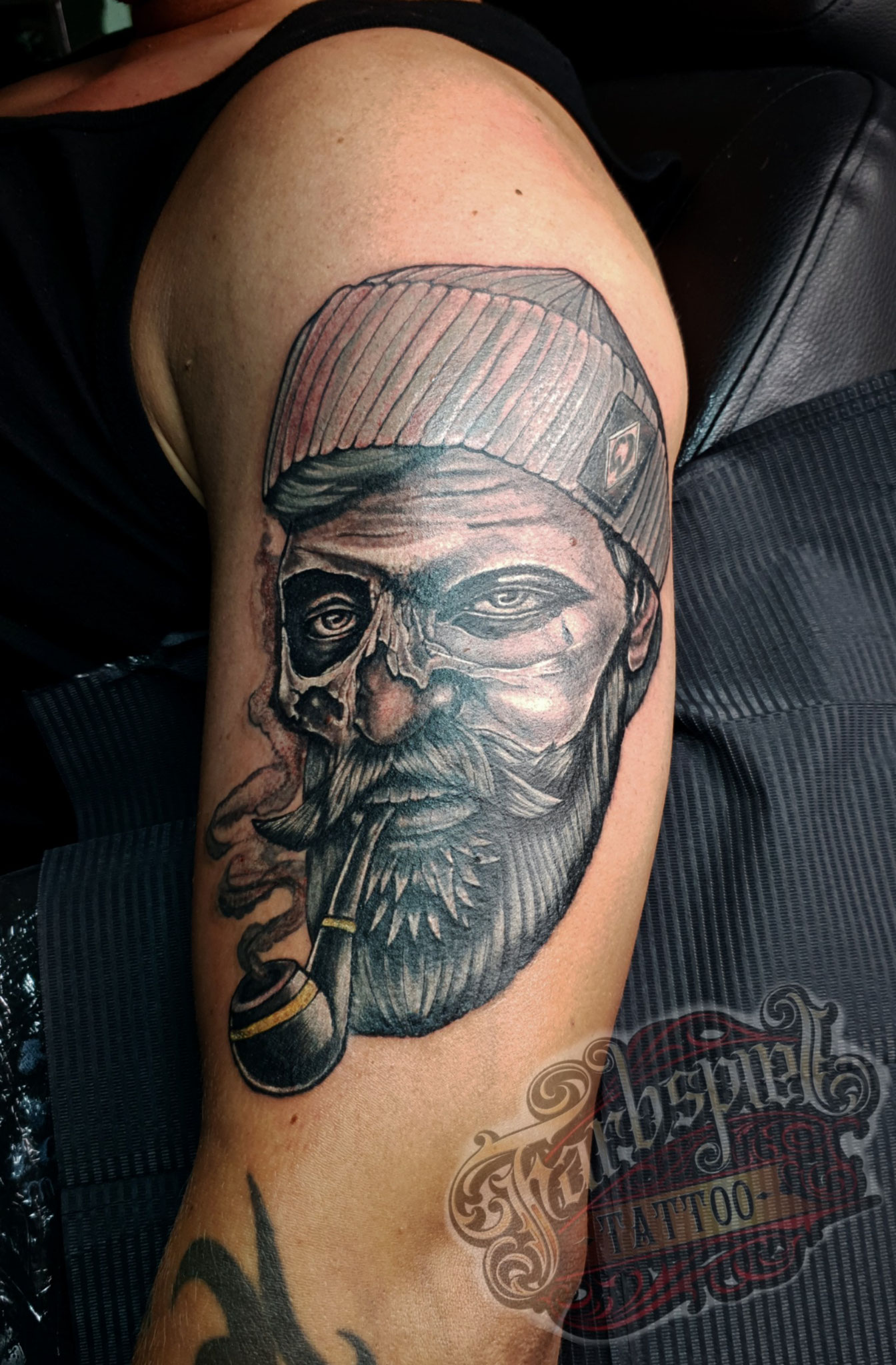Sailor Skull tattoo