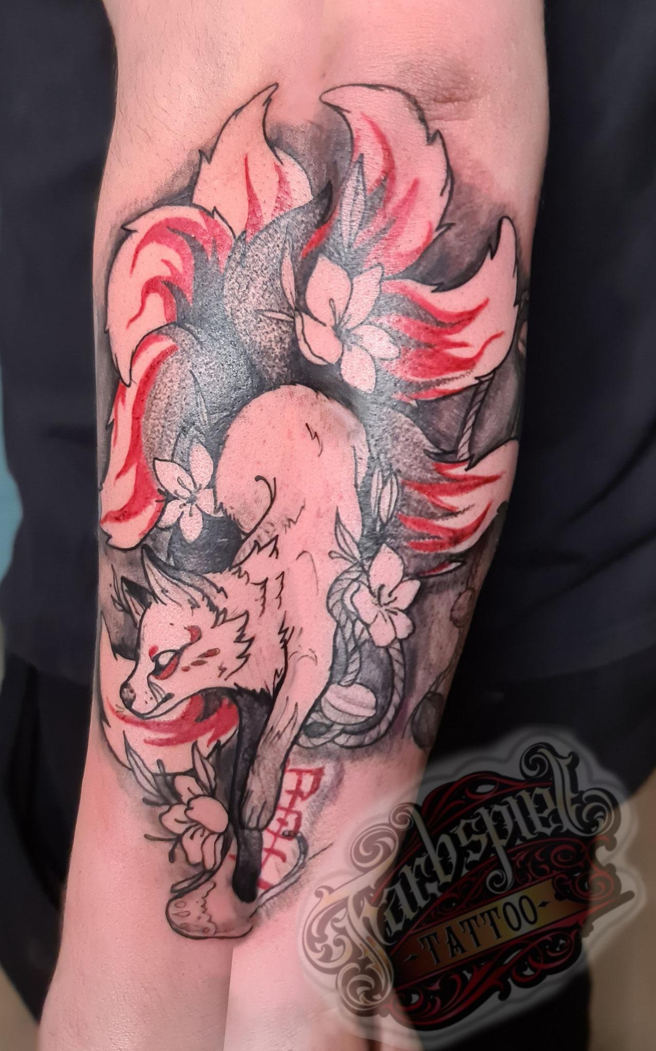 #kitsune #kitsunetattoo #farbspieltattoo