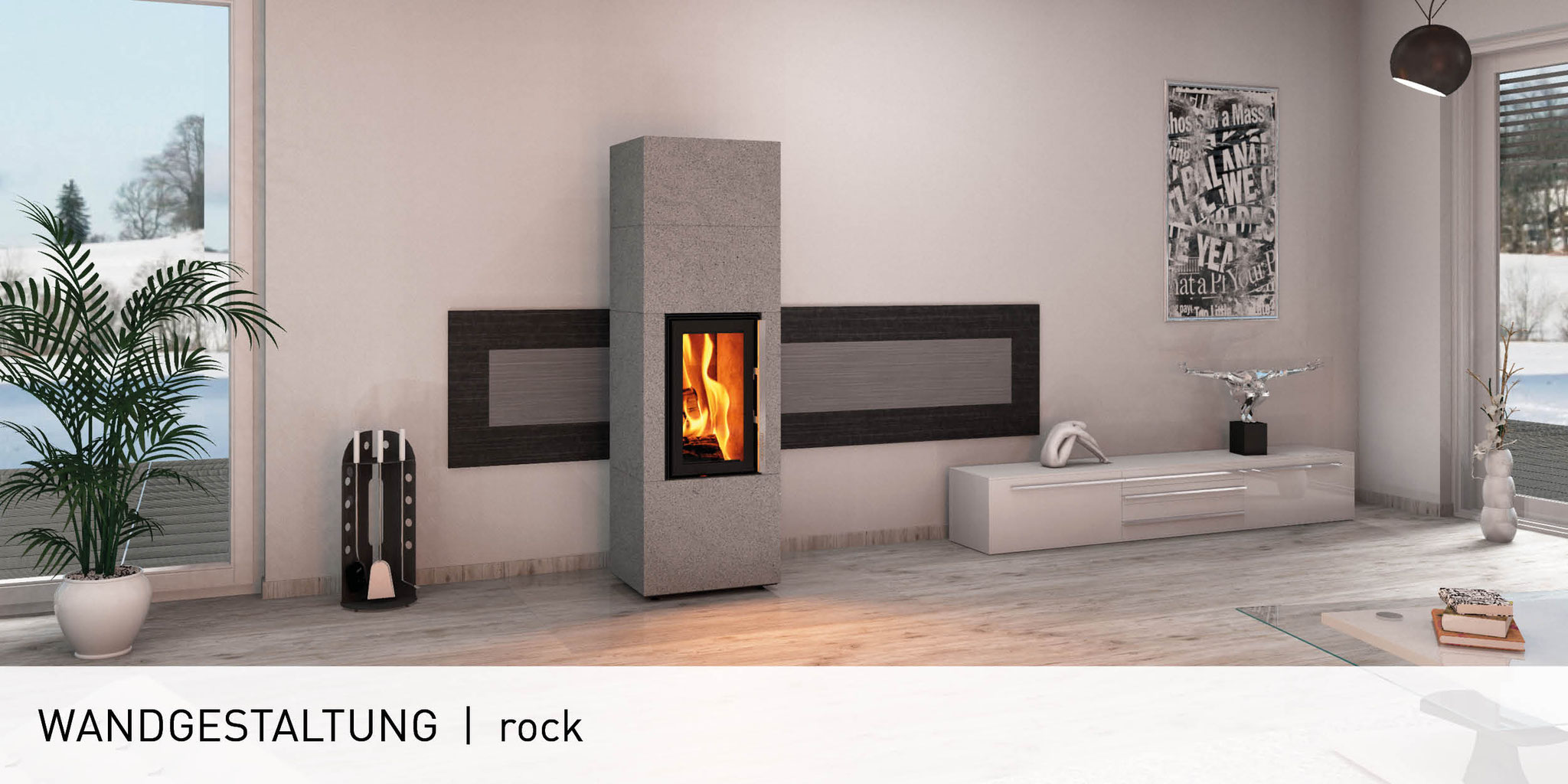 wandgestaltung monolith fire inside naturstein fen natursteinofen speicher kaminofen. Black Bedroom Furniture Sets. Home Design Ideas