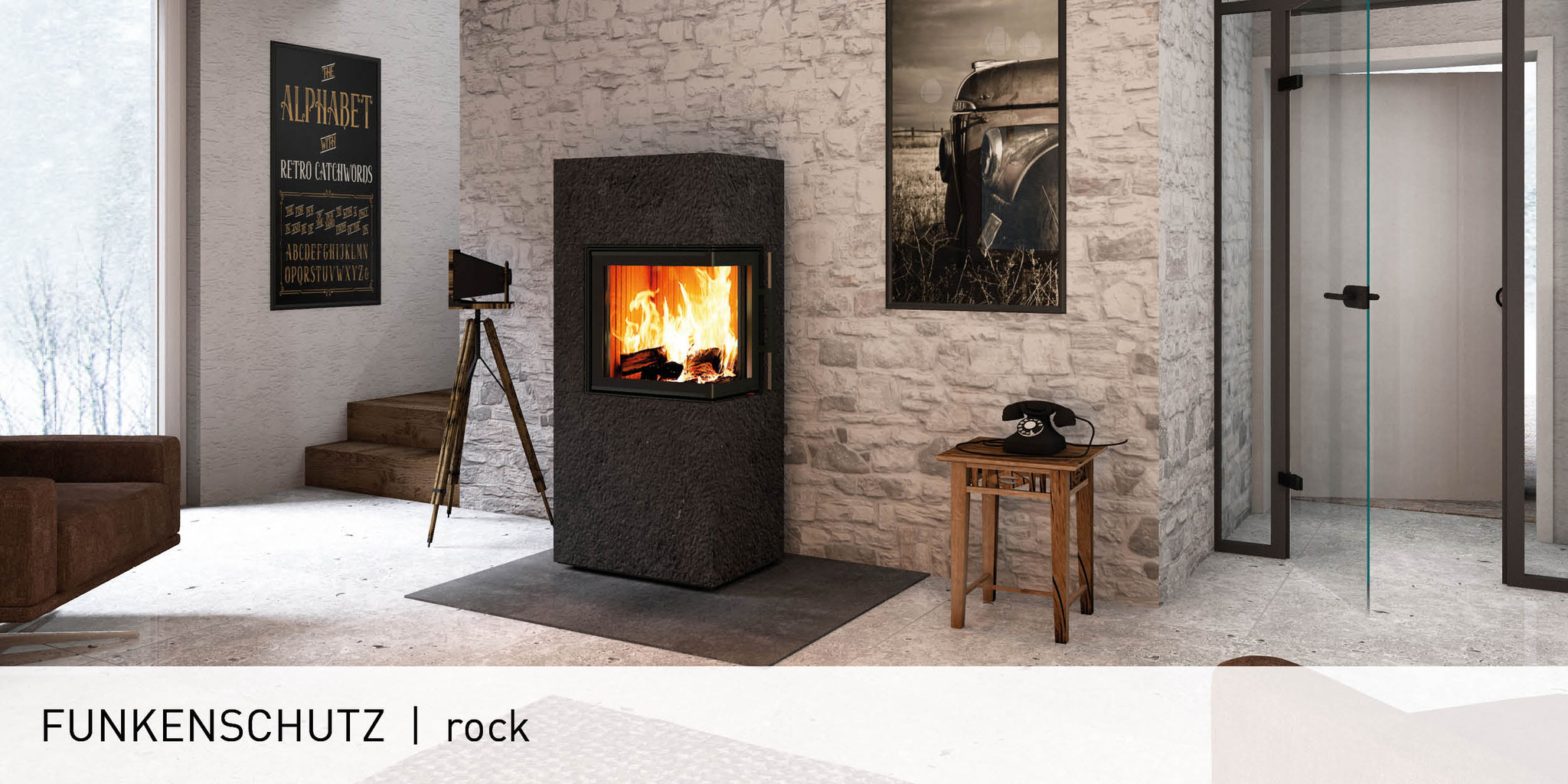 Funkenschutzplatten Monolith Fire Inside Natursteinofen Natursteinofen Speicher Kaminofen Speicherfeuerstatten Heizkamine