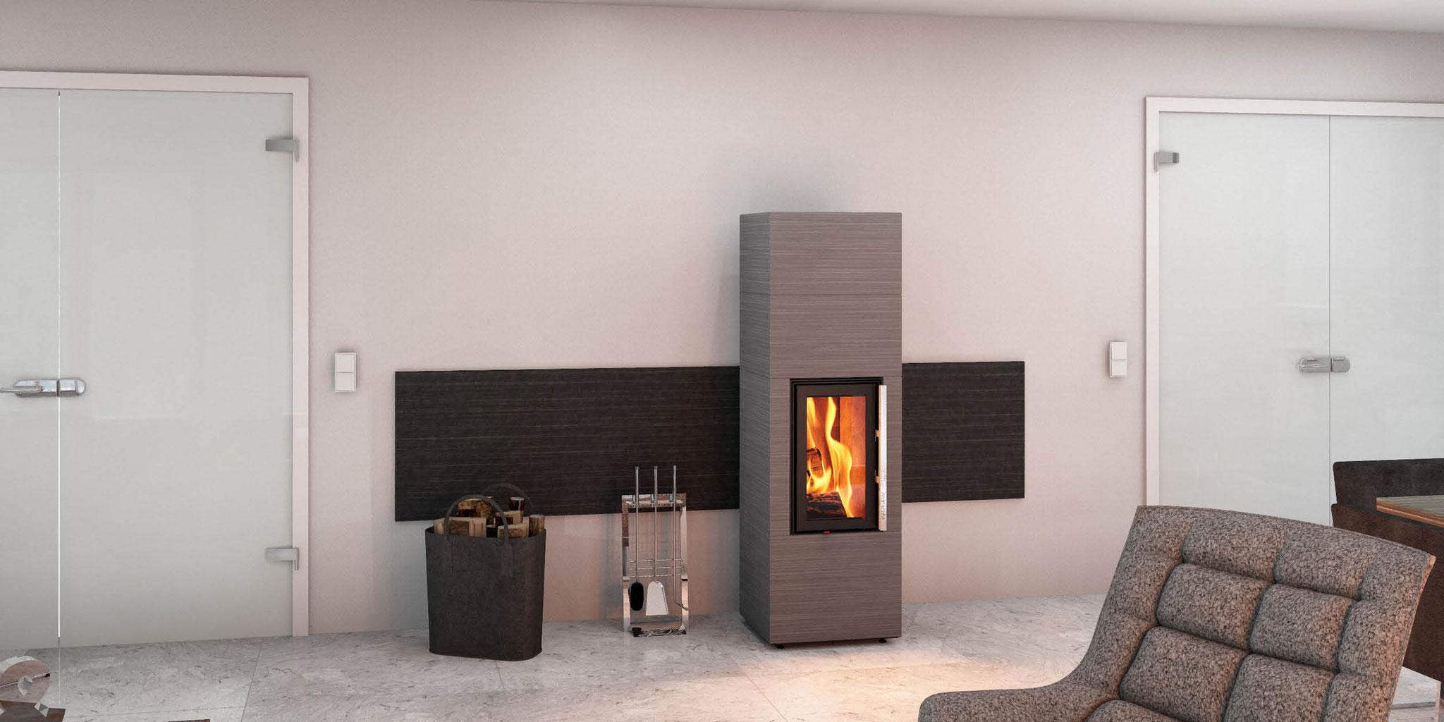 wandgestaltung - monolith-fire inside, natursteinöfen