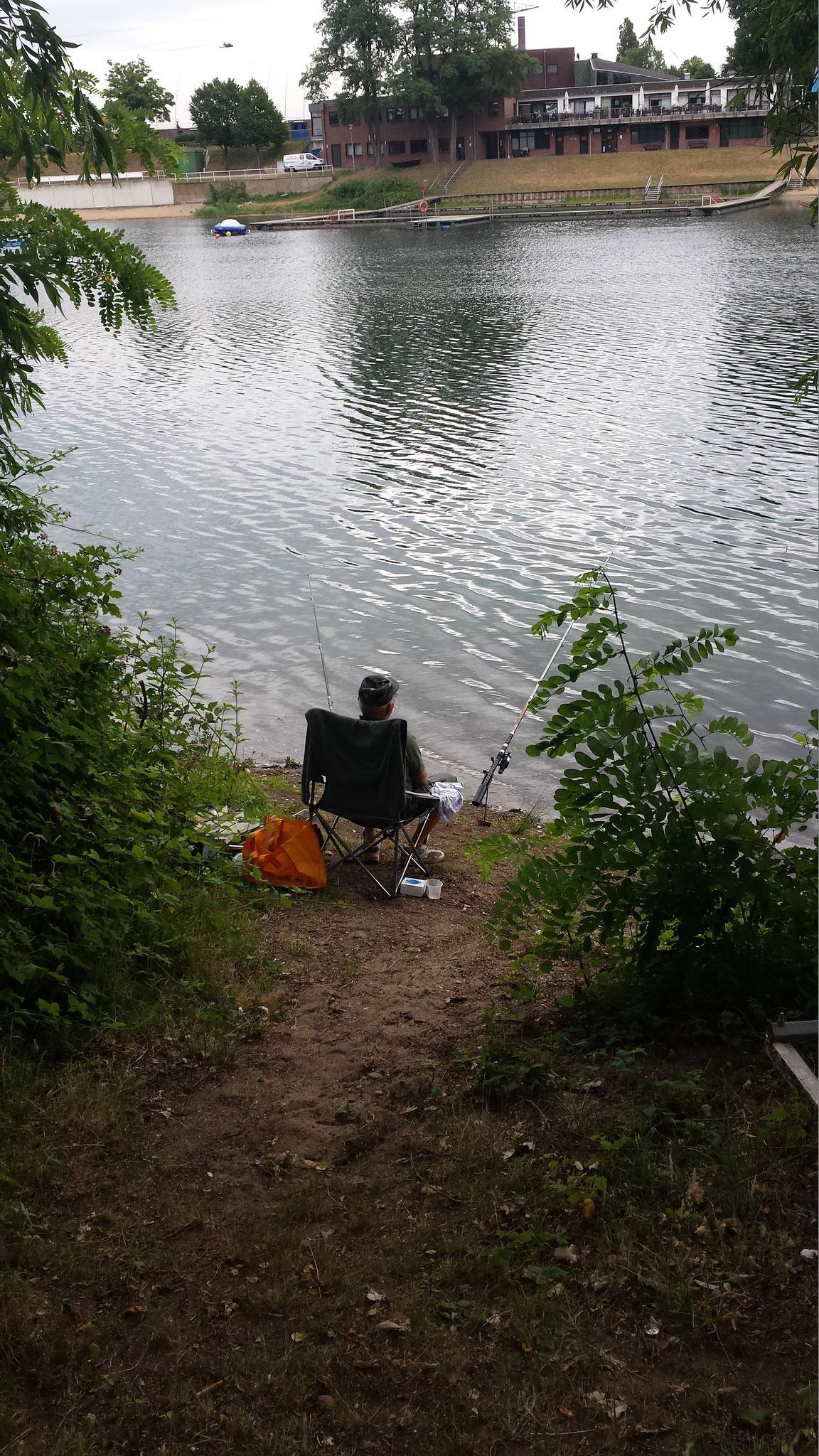 Hegefischen am Waldsee