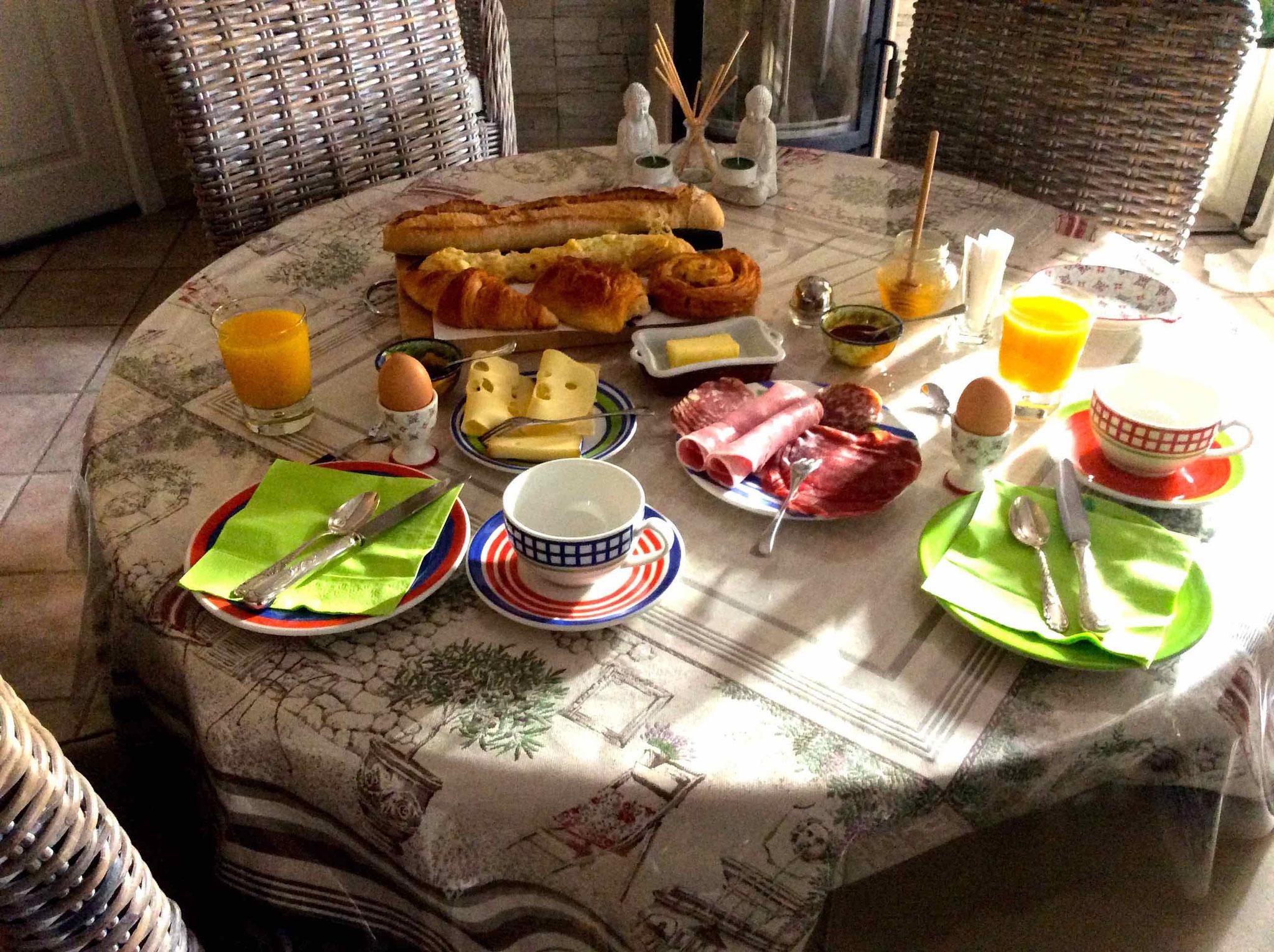 Gästefrühstück