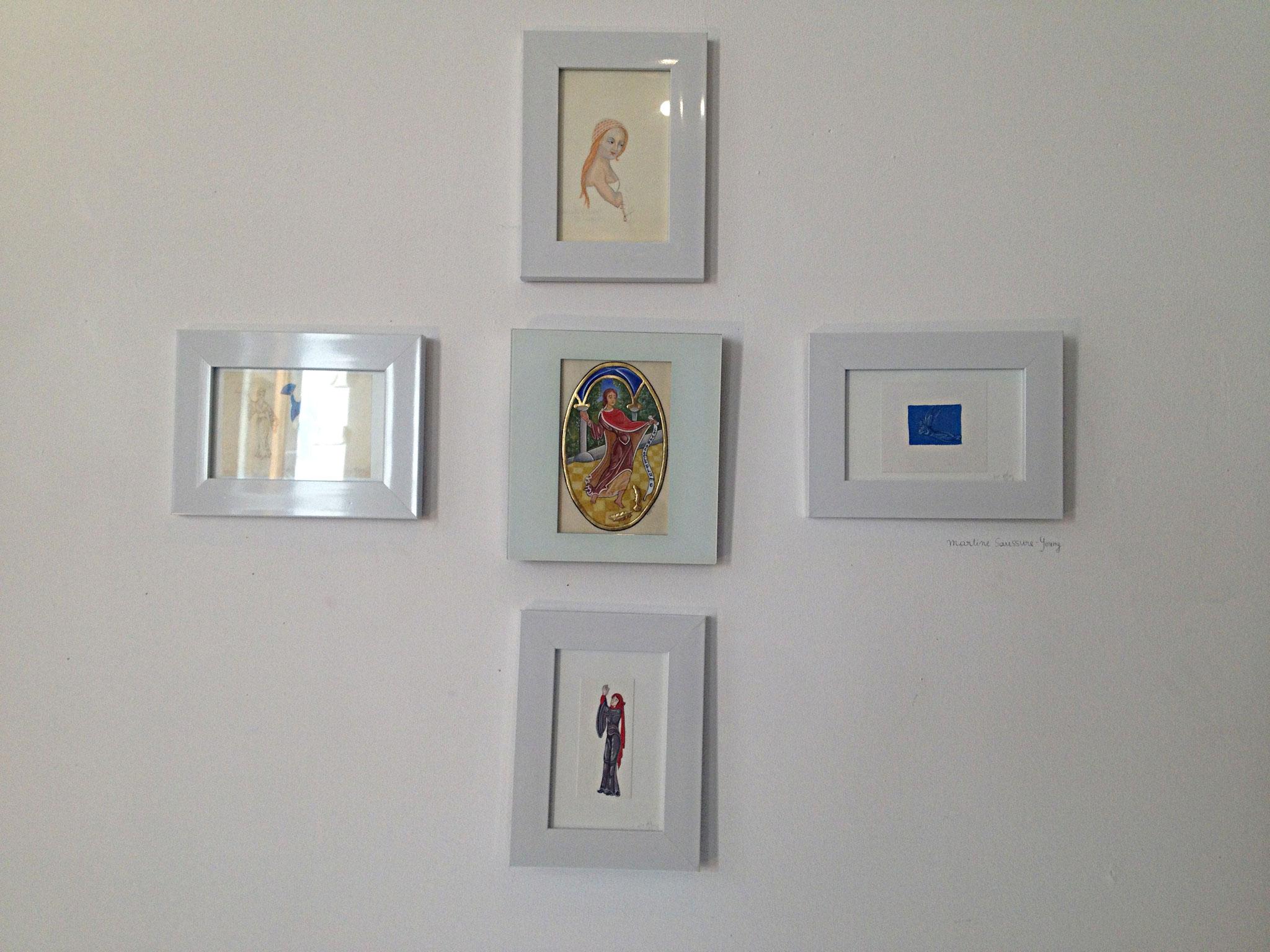 Miniatures de Martine Saussure-Young
