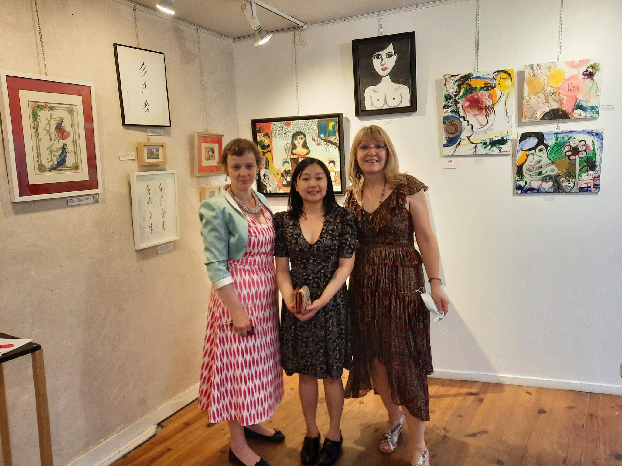 3 artistes pour exprimer les Figures de Liberté