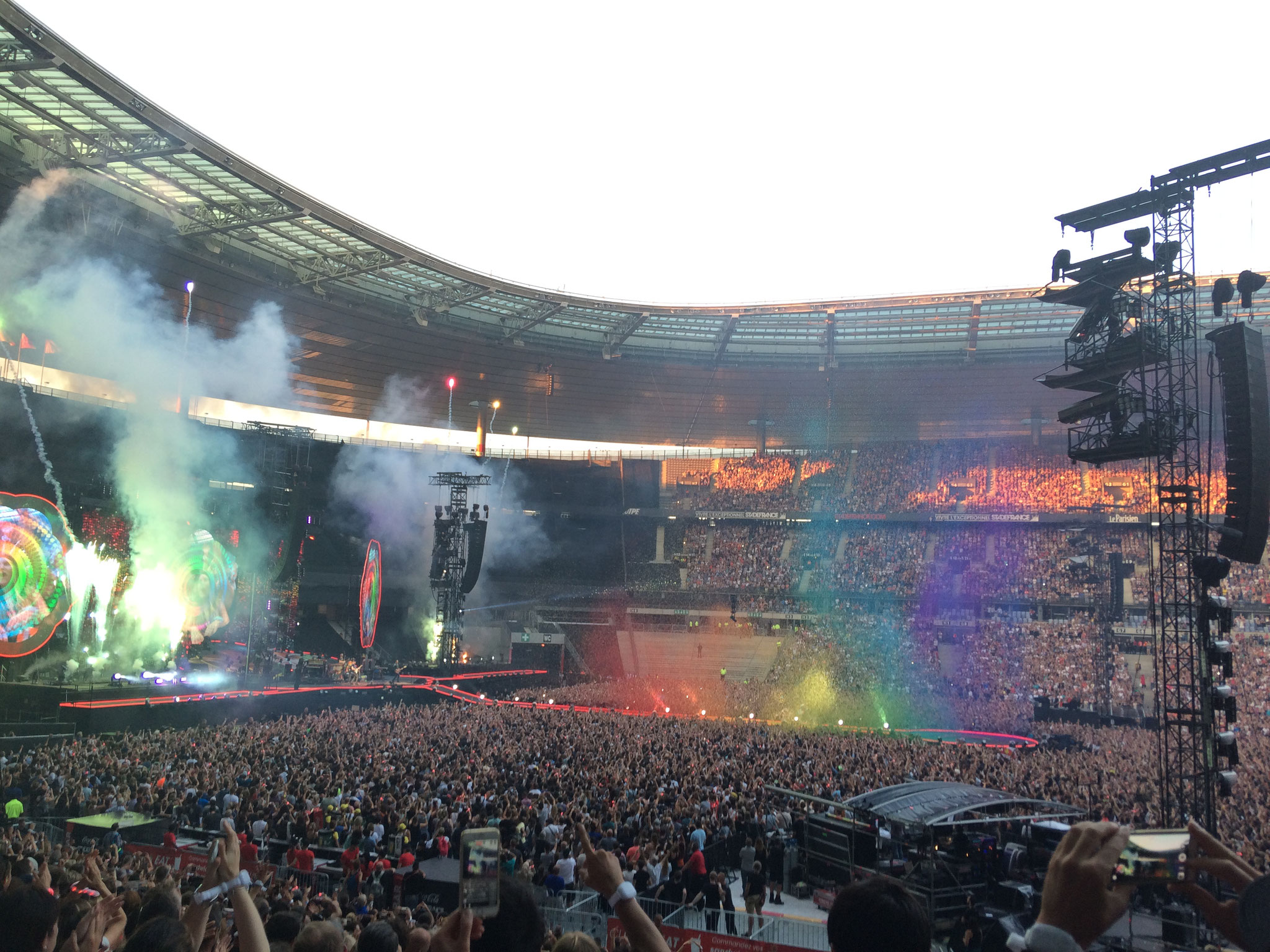 Coldplay - Stade de France Paris