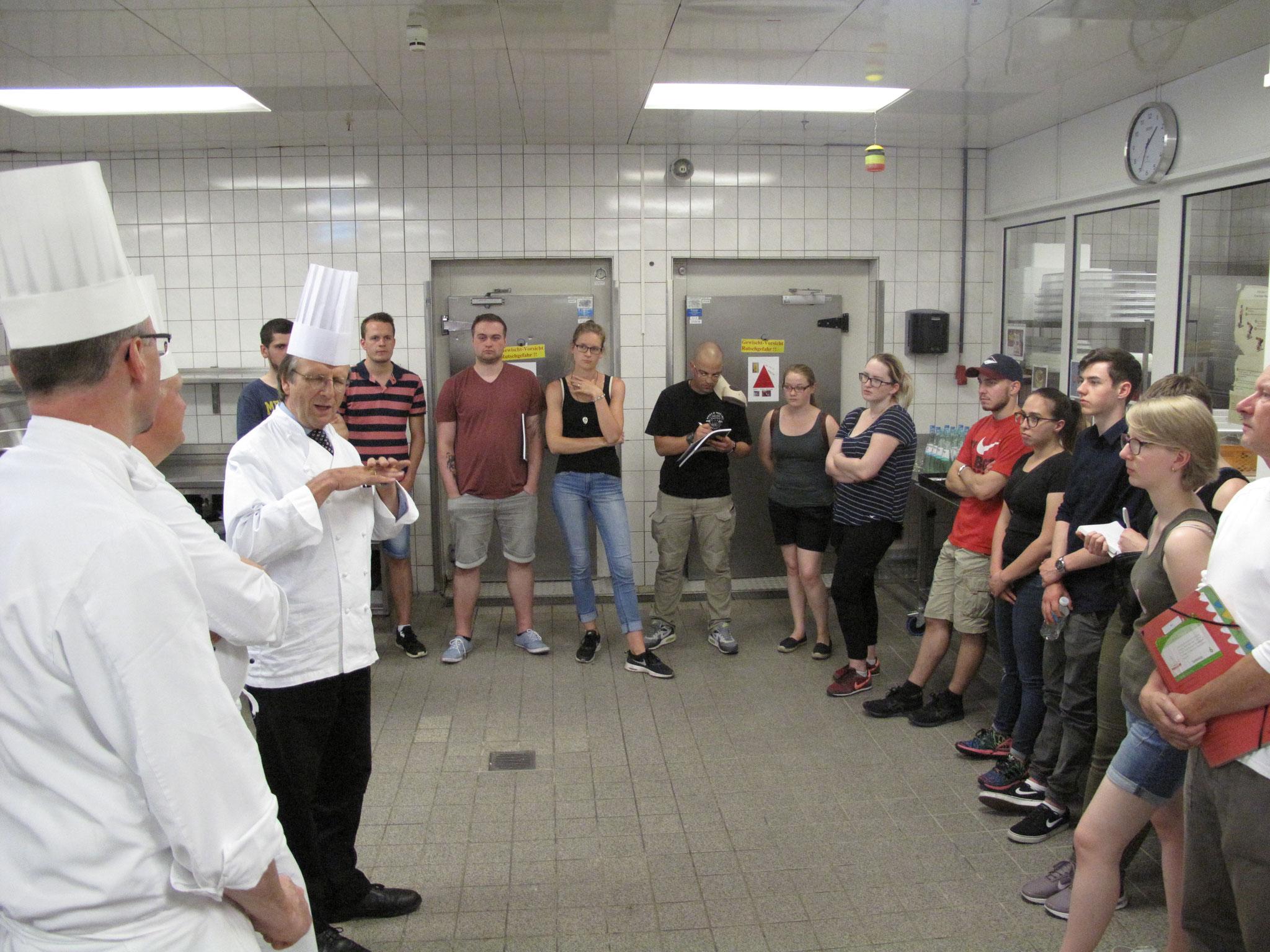 Info über die Küche des Sheraton-Airporthotel FfM