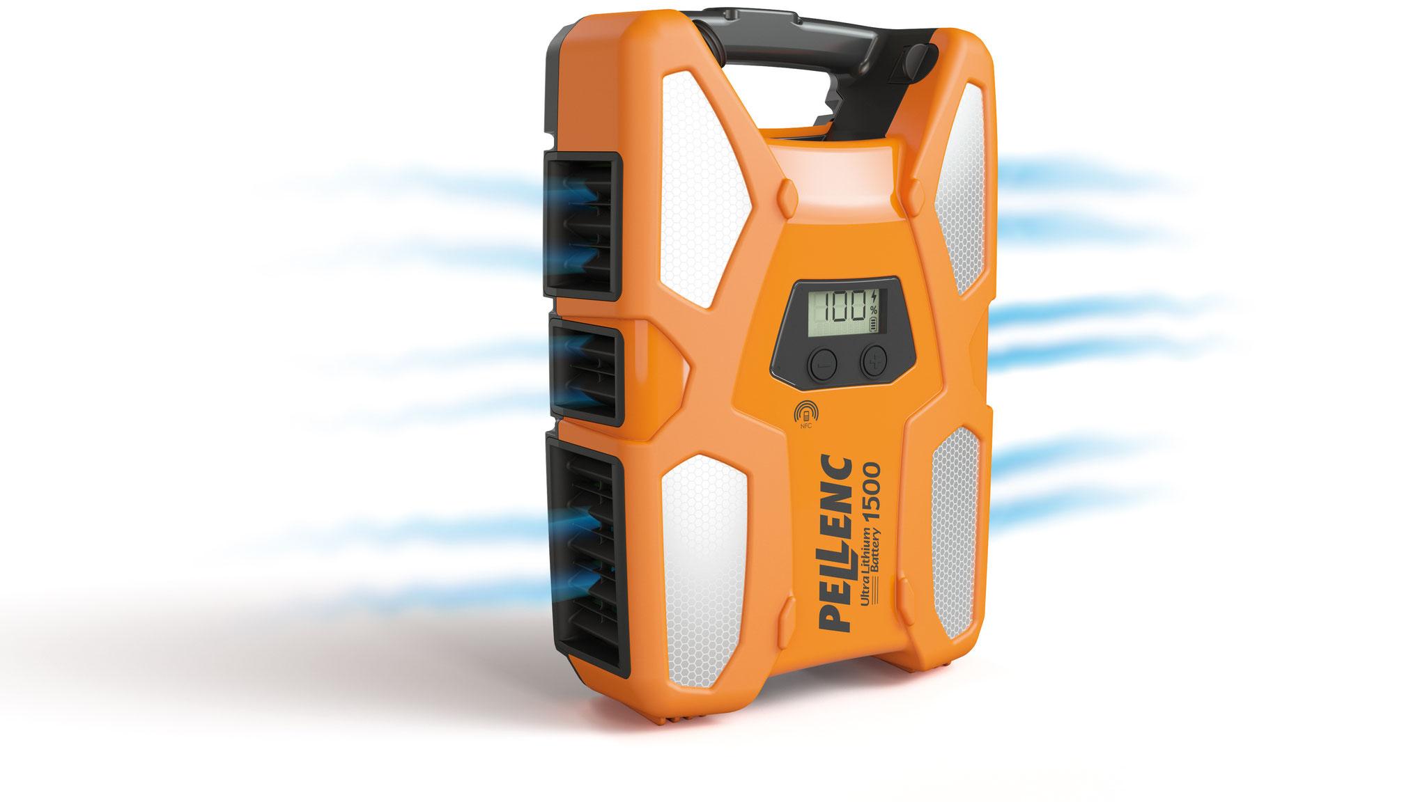 Pellenc ULiB 1500 - Akku mit 1527 Wh gespeicherter Energie bei 7,5 kg Gewicht