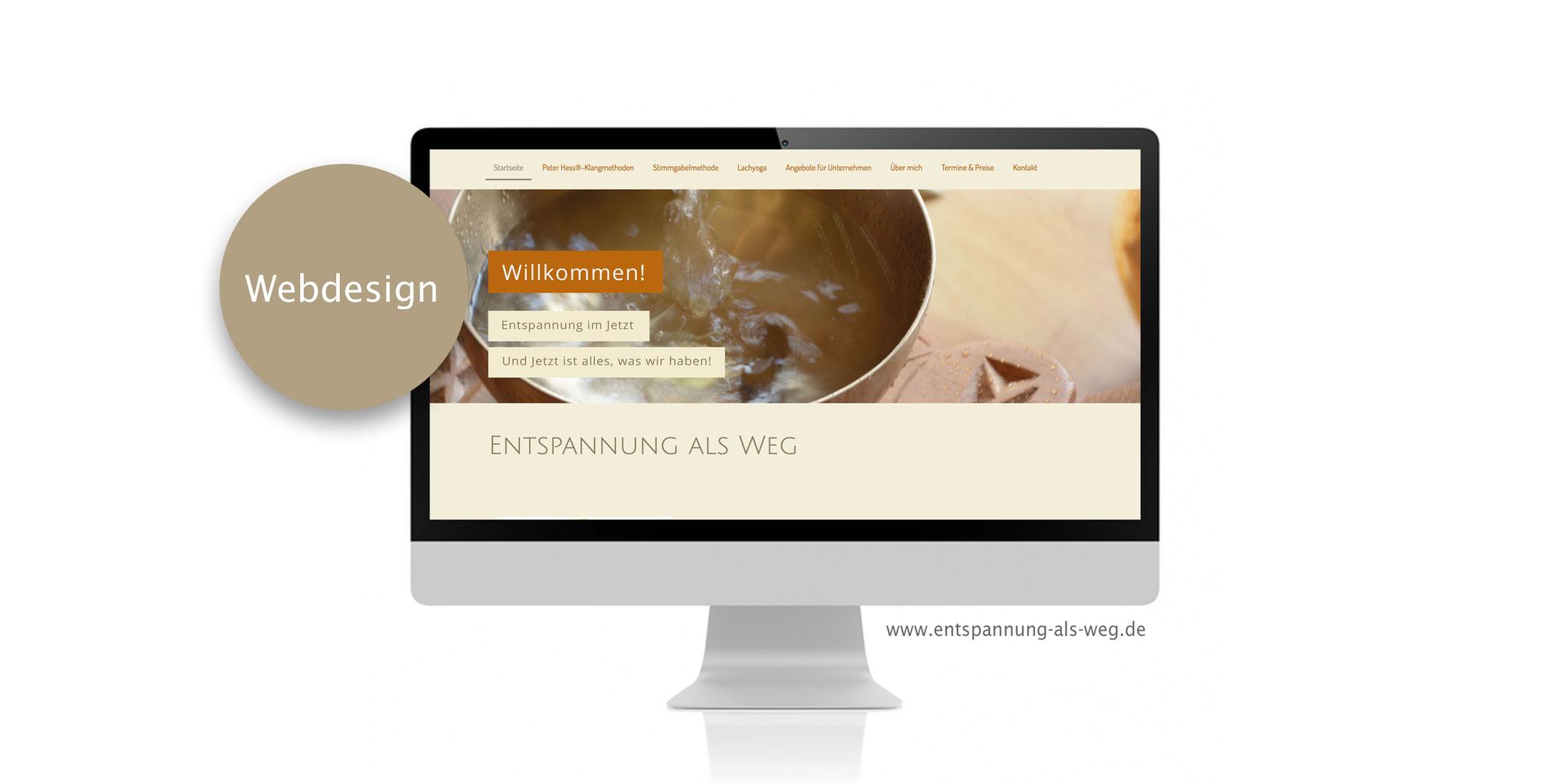 Webdesign  www.entspannung-als-weg.de