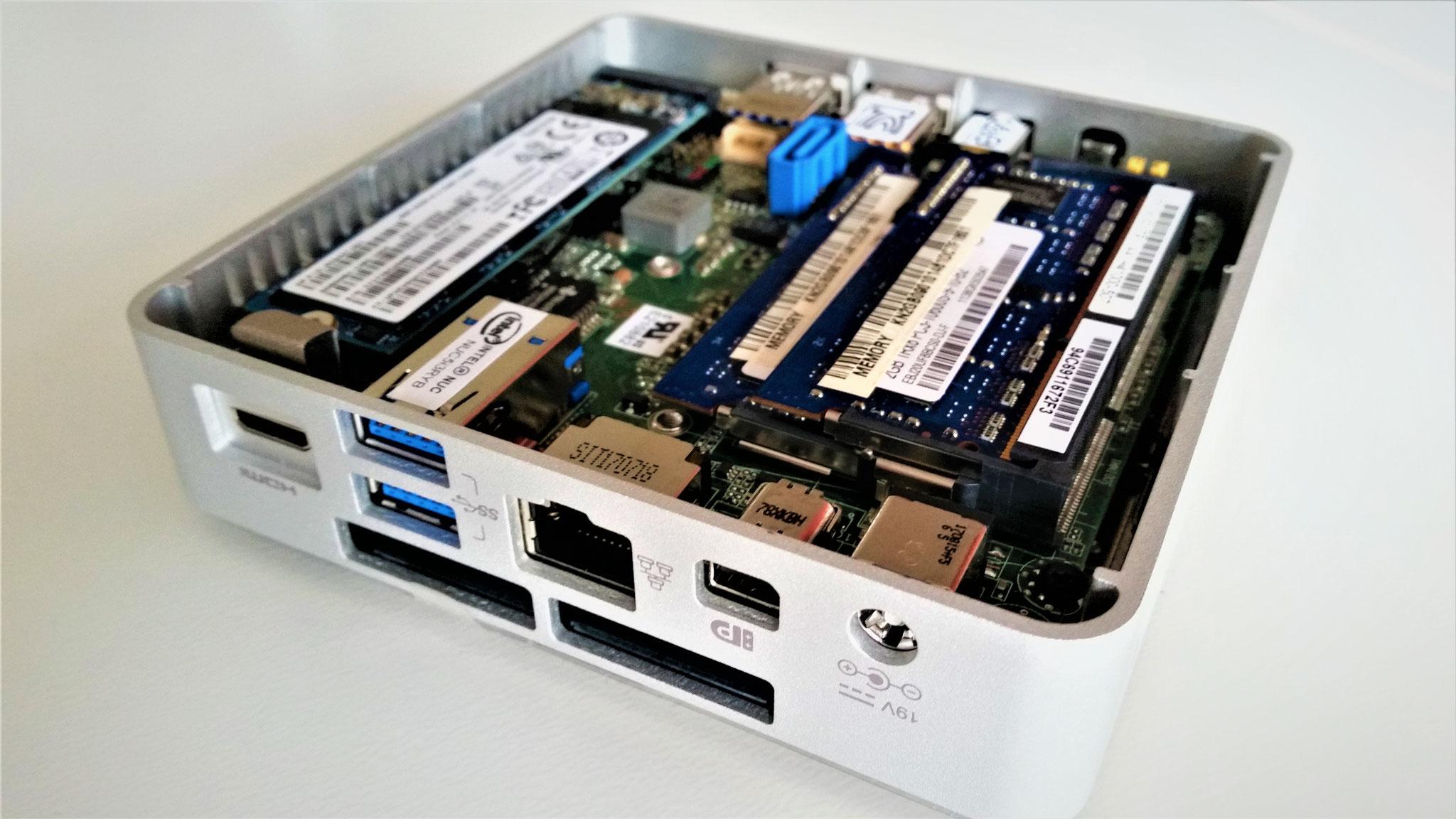 Klein, Kleiner, Intel NUC - Mini-PC mit ordentlich Dampf für alle gängigen Anwendungen!