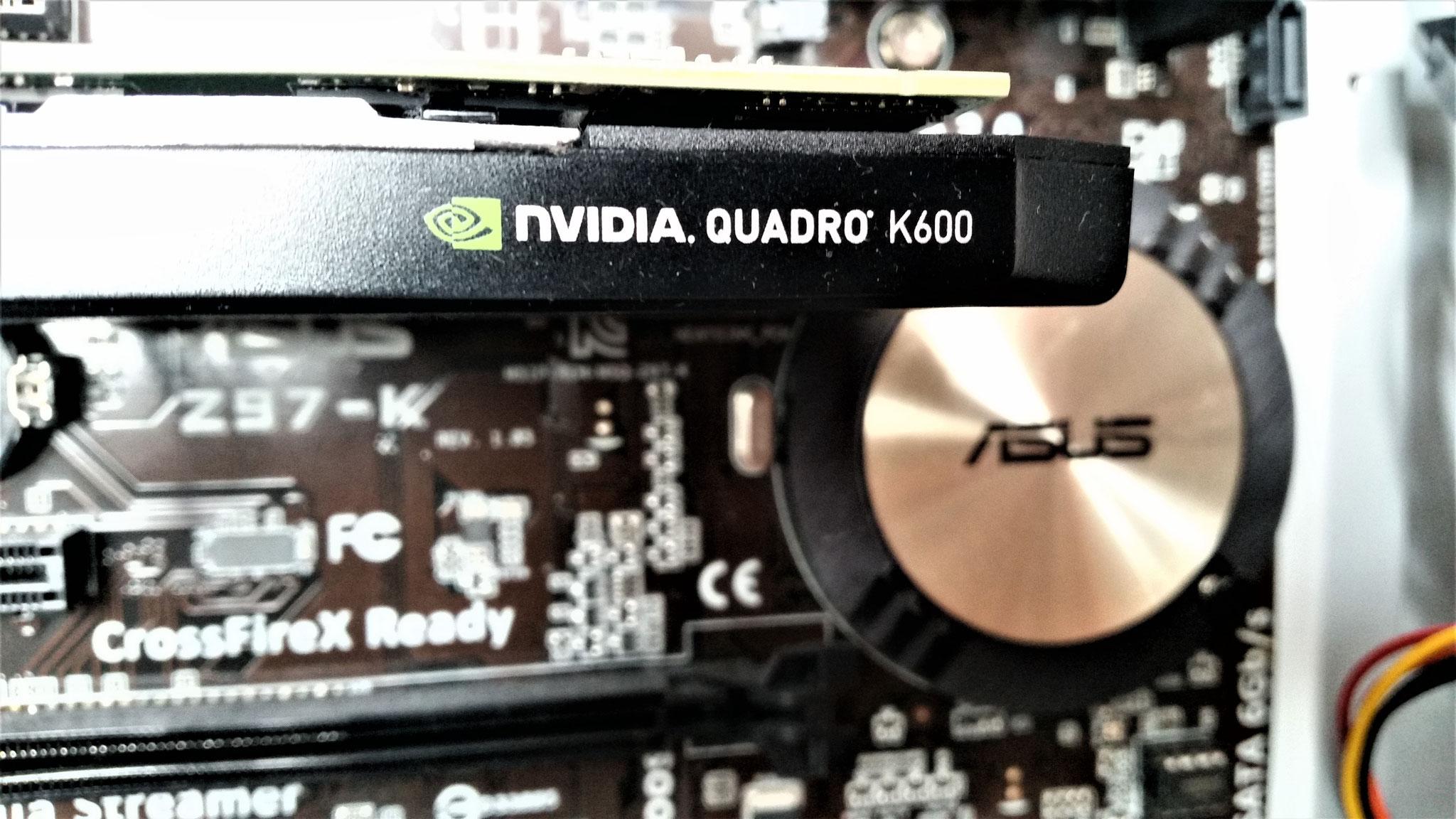 NVIDIA Quadro ist der De-facto-Standard für professionelle Grafikdesigner und wissenschaftliche Digitalkünstler.