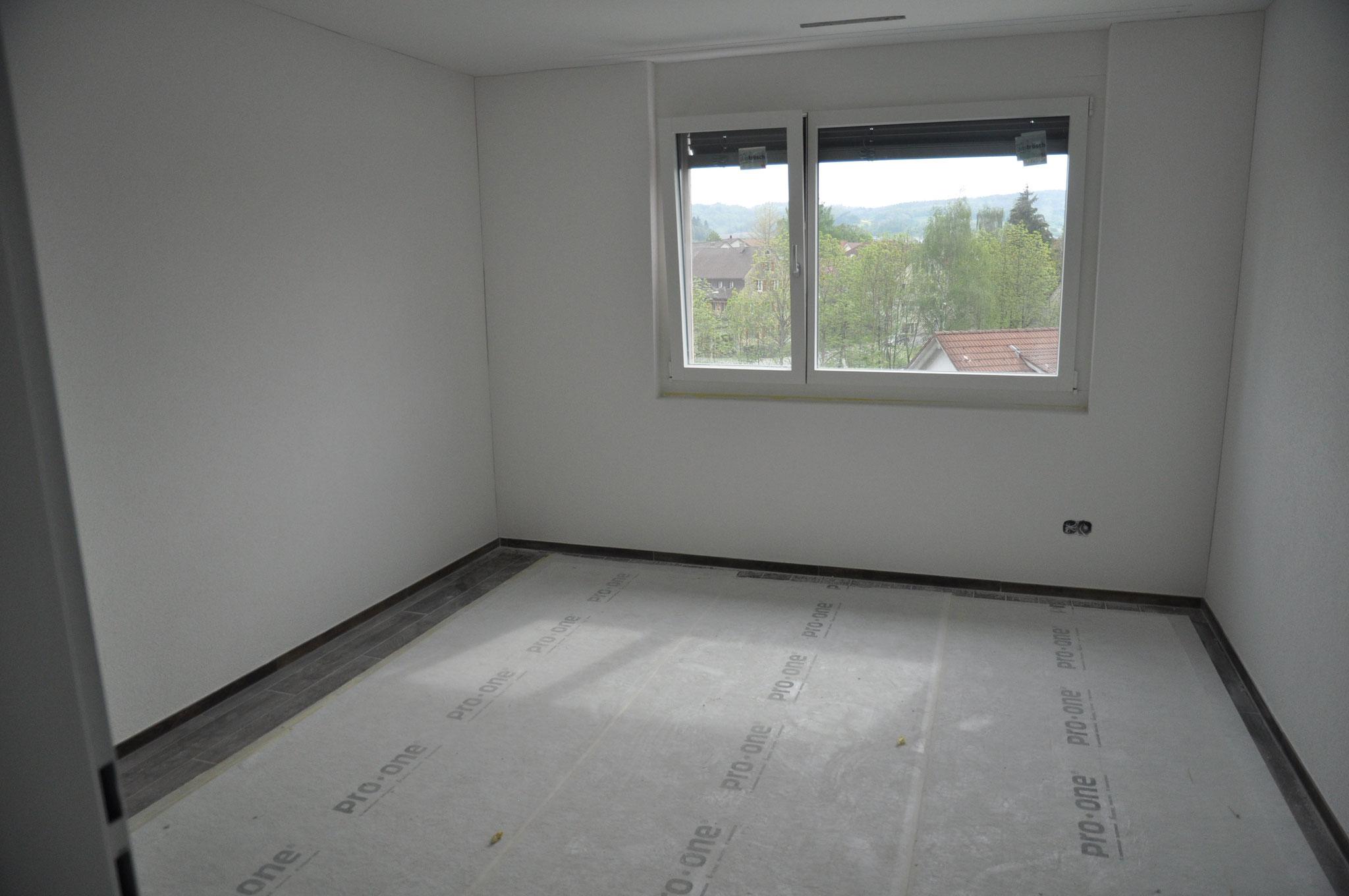 Innenausbau Zimmer 2 4,5 Zimmer Wohnung Einheit B (Mai 2016)
