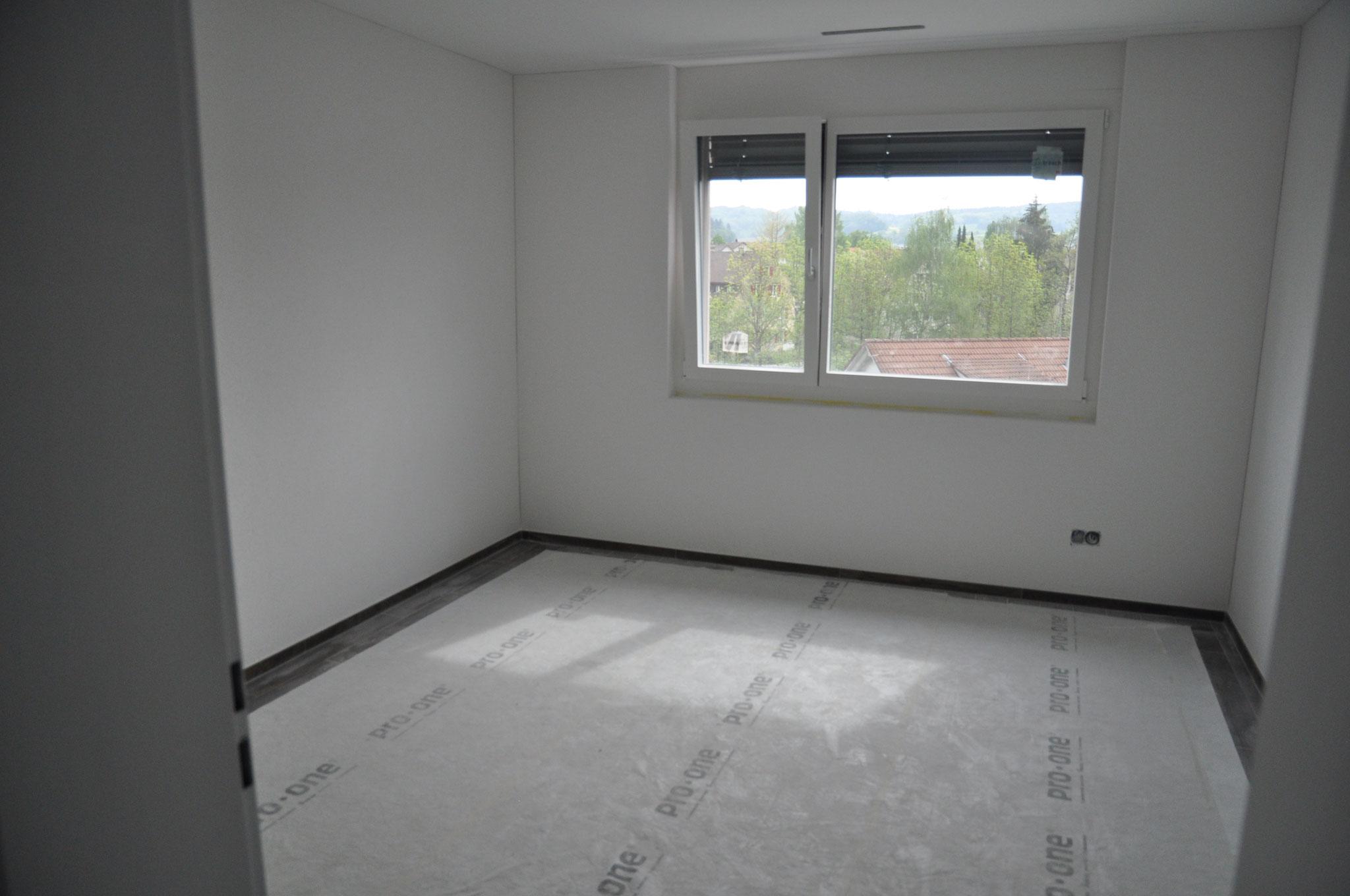 Innenausbau Zimmer 3 4,5 Zimmer Wohnung Einheit B (Mai 2016)