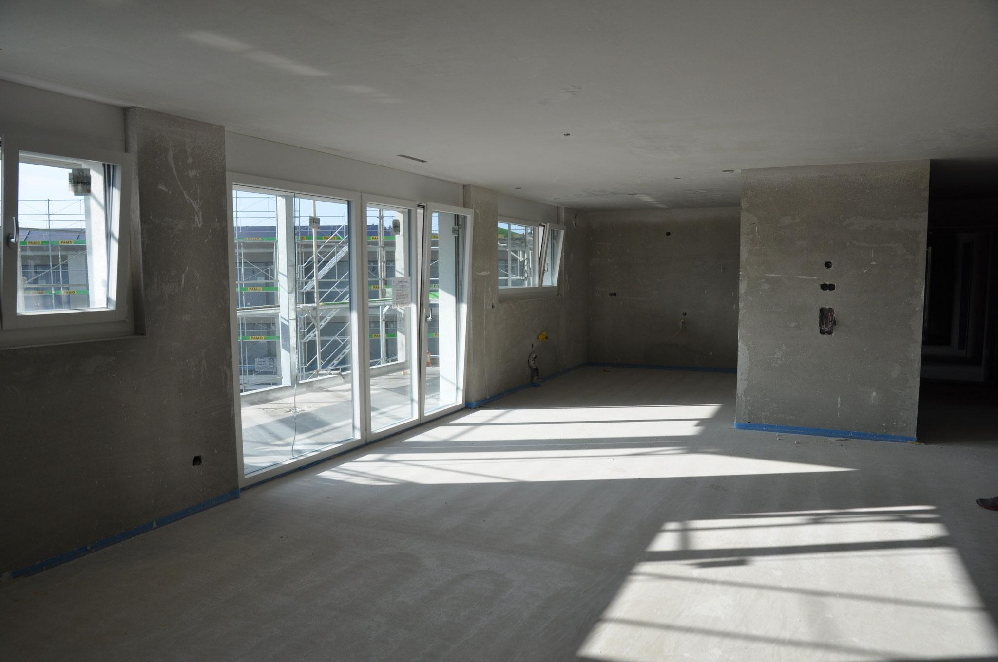Innenausbau Essen/Wohnen 3,5 Zimmer Wohnung Einheit B (März 2016)