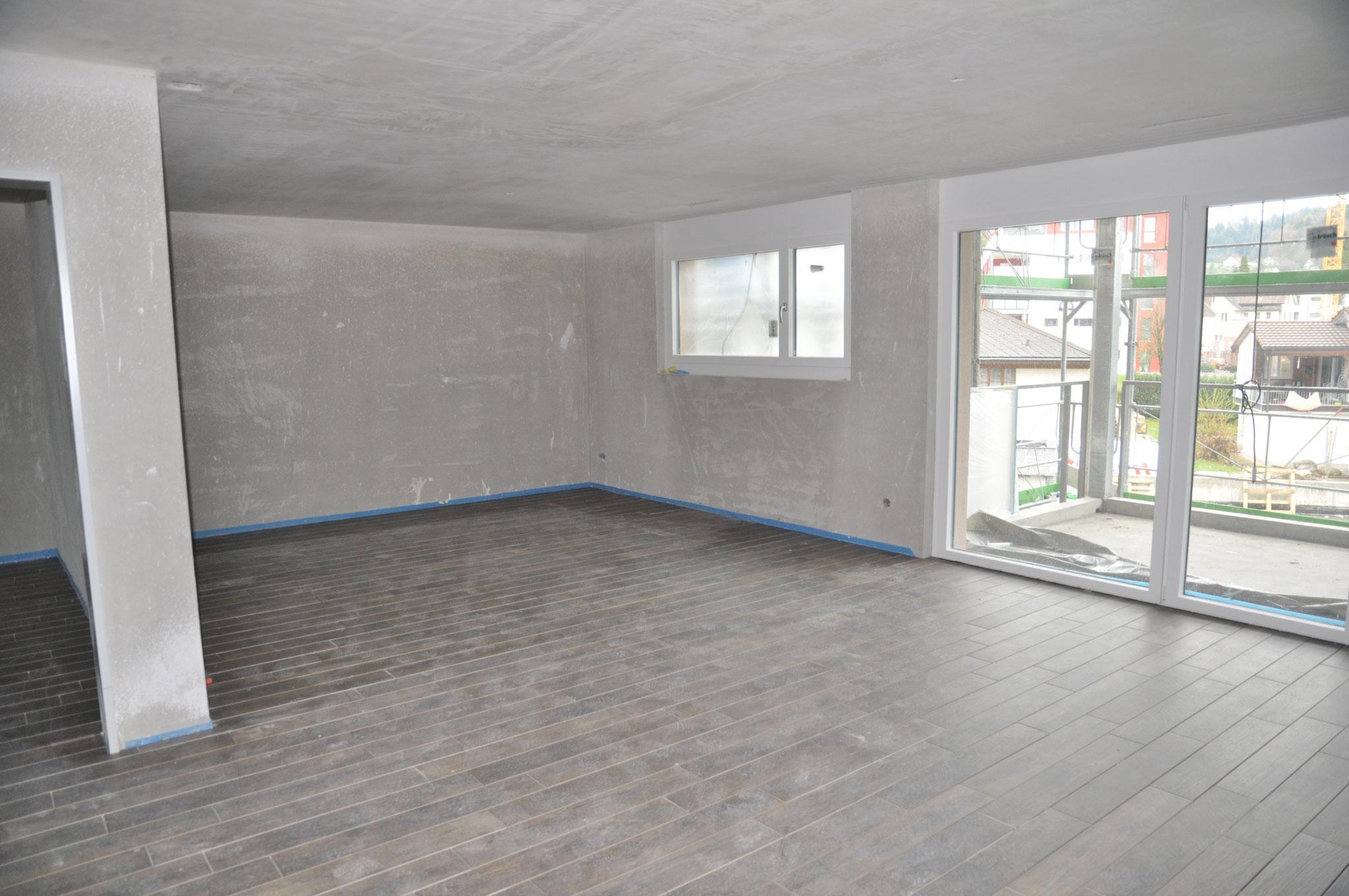 Innenausbau Wohnen 3,5 Zimmer Wohnung Einheit B (März 2016)