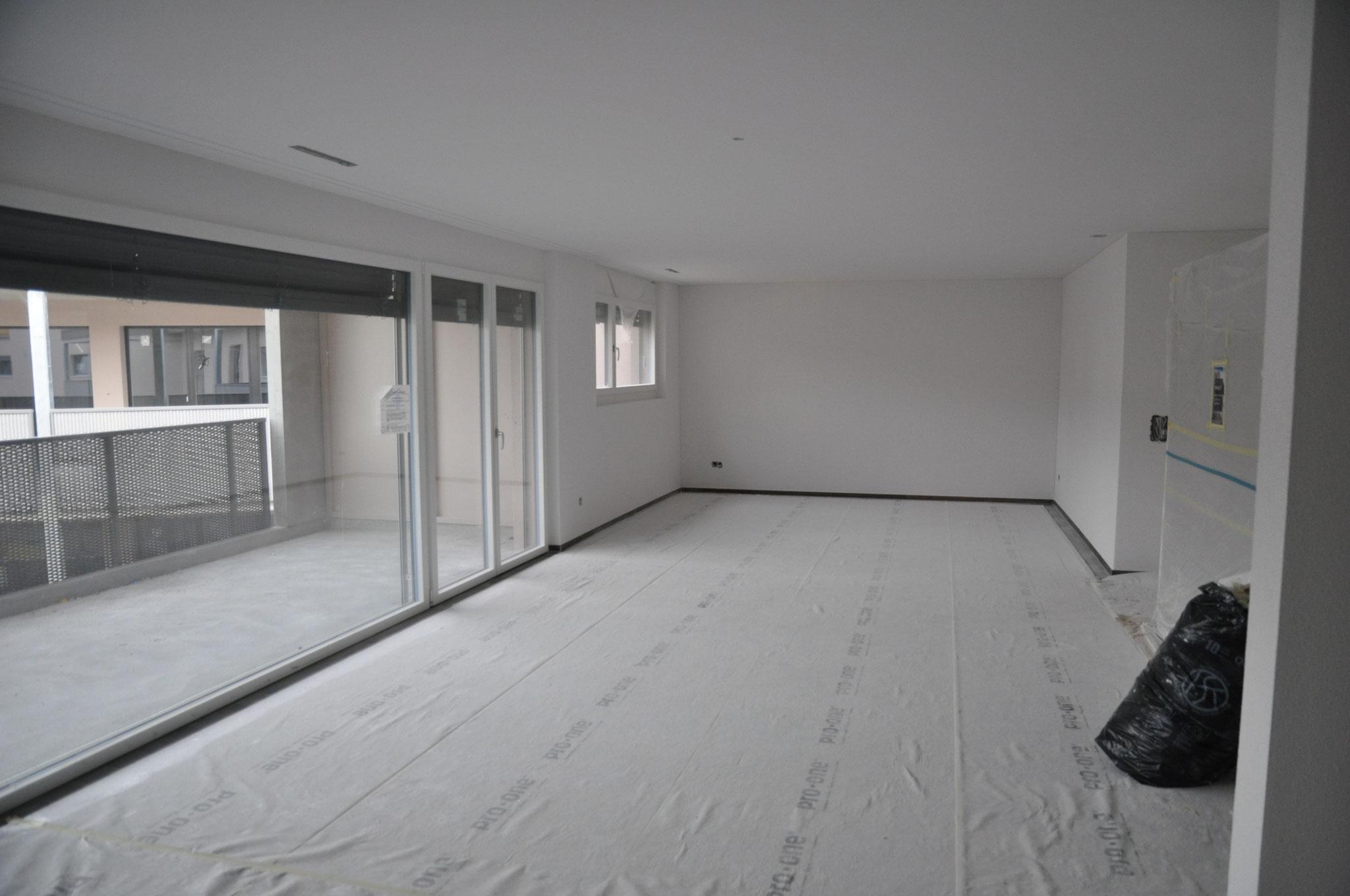 Innenausbau Wohnen/Essen 4,5 Zimmer Wohnung Einheit B (Mai 2016)