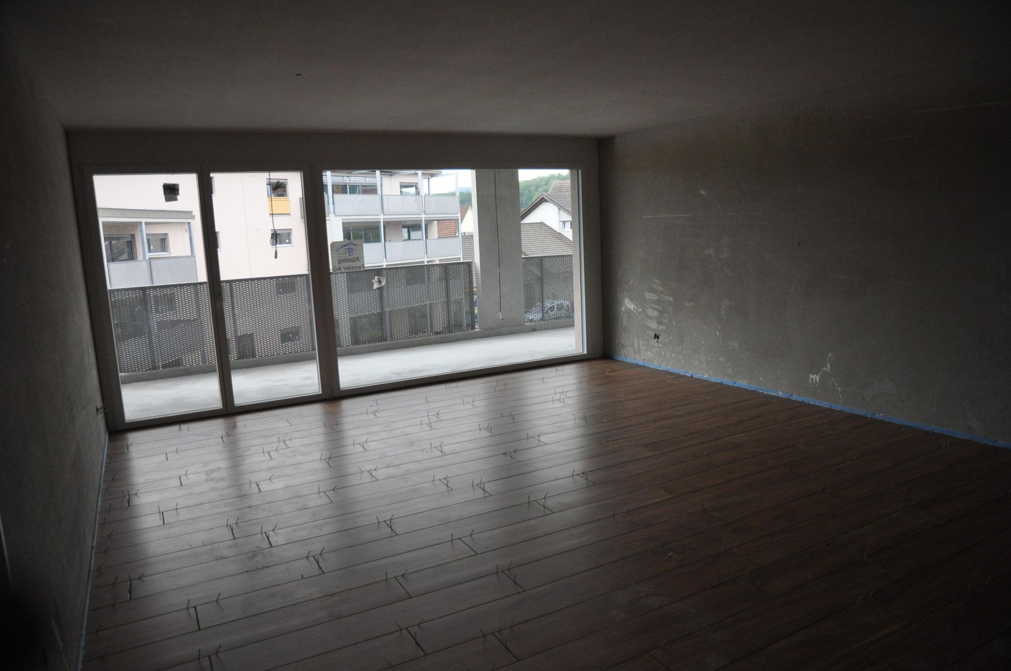 Innenausbau Wohnen 2,5 Zimmer Wohnung Einheit C (Mai 2016)
