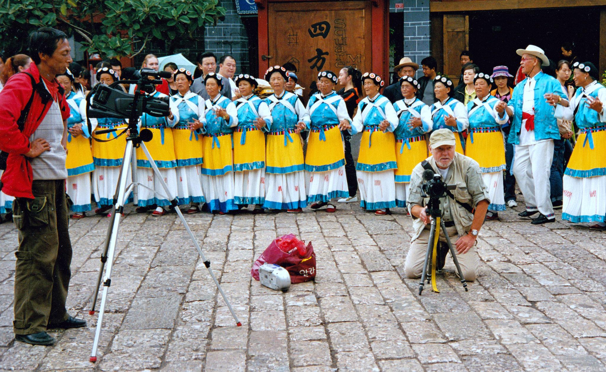 Mittendrin bei den Naxis in Lijiang