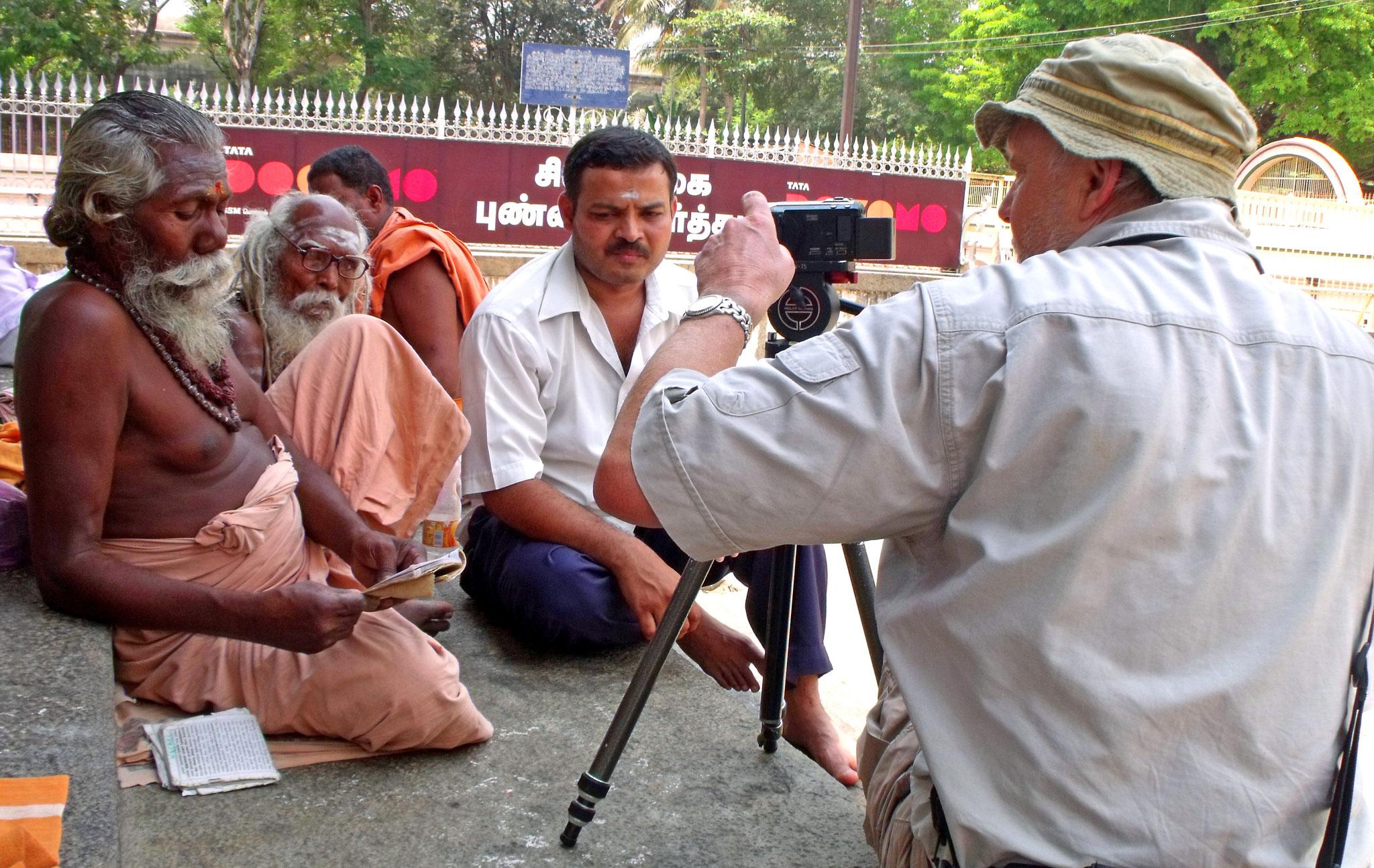 Tiruvannamalai - Geschichten über Aufgabe der Familie für Gott Shiva
