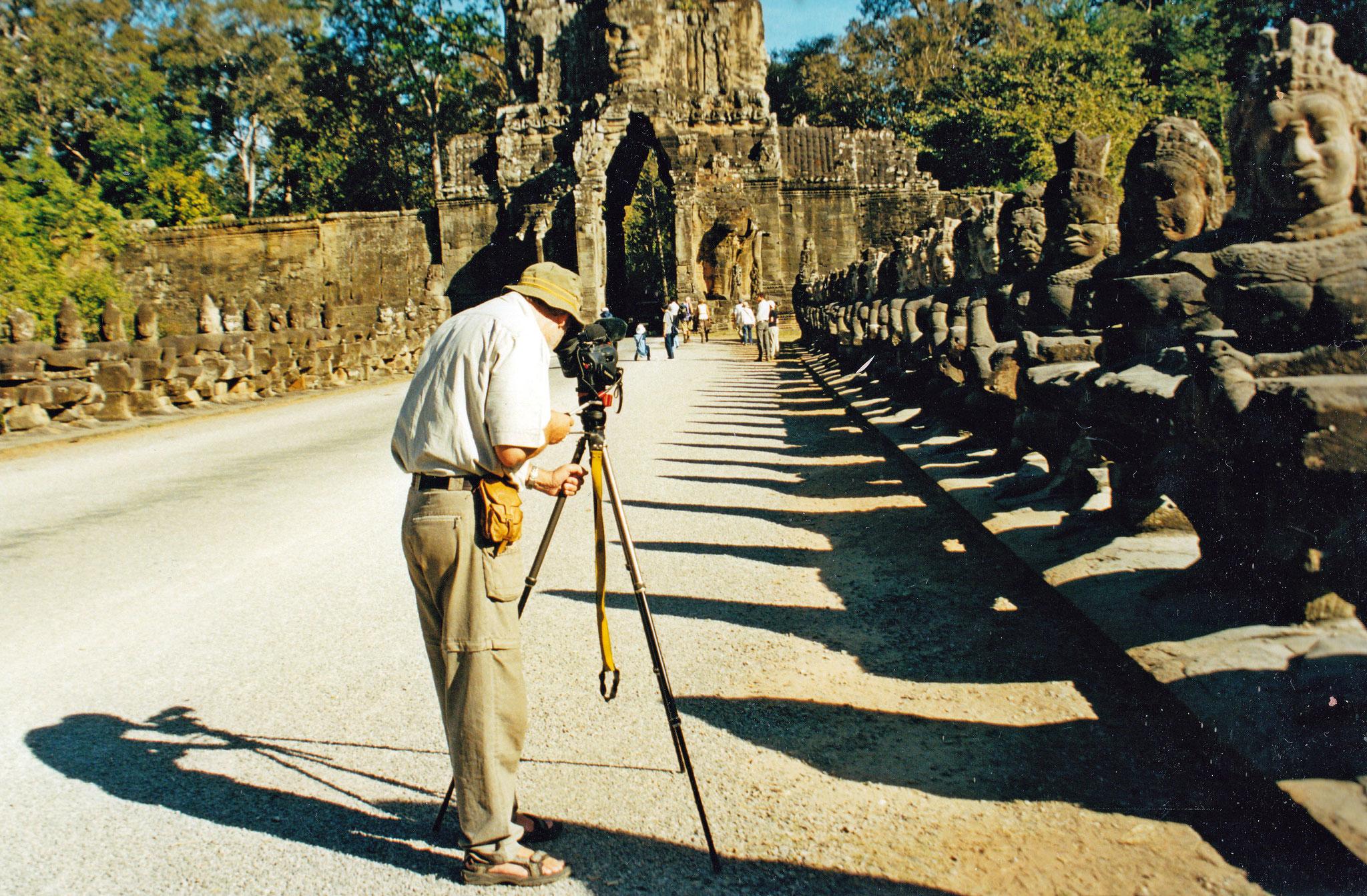 Beeindruckende Bildnisse vergangener Kulturen, Angkor Wat-Areal