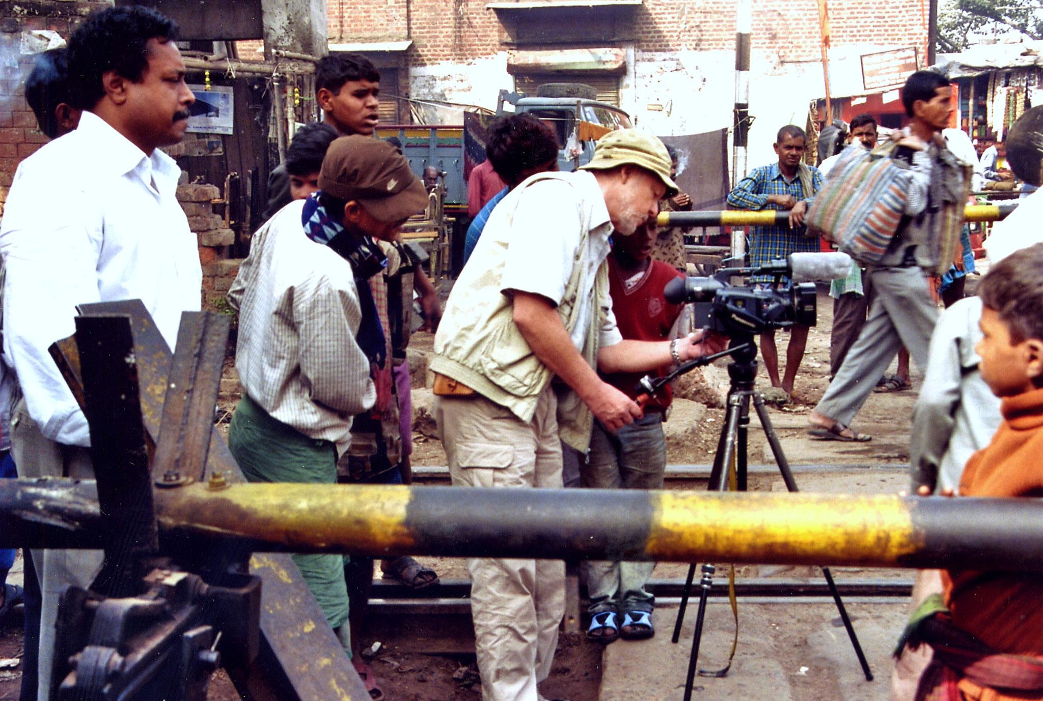 Filmverrückte Inder, immer unter Beaobachtung