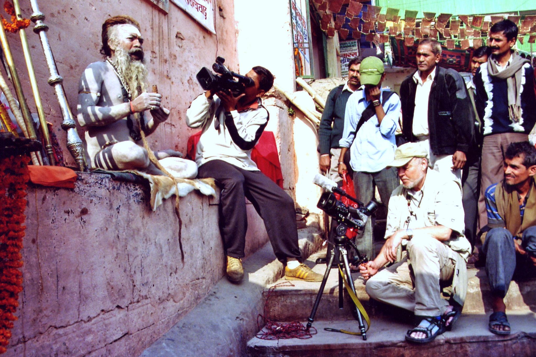 Zum Beispiel Indien - Am Ganges - holy man
