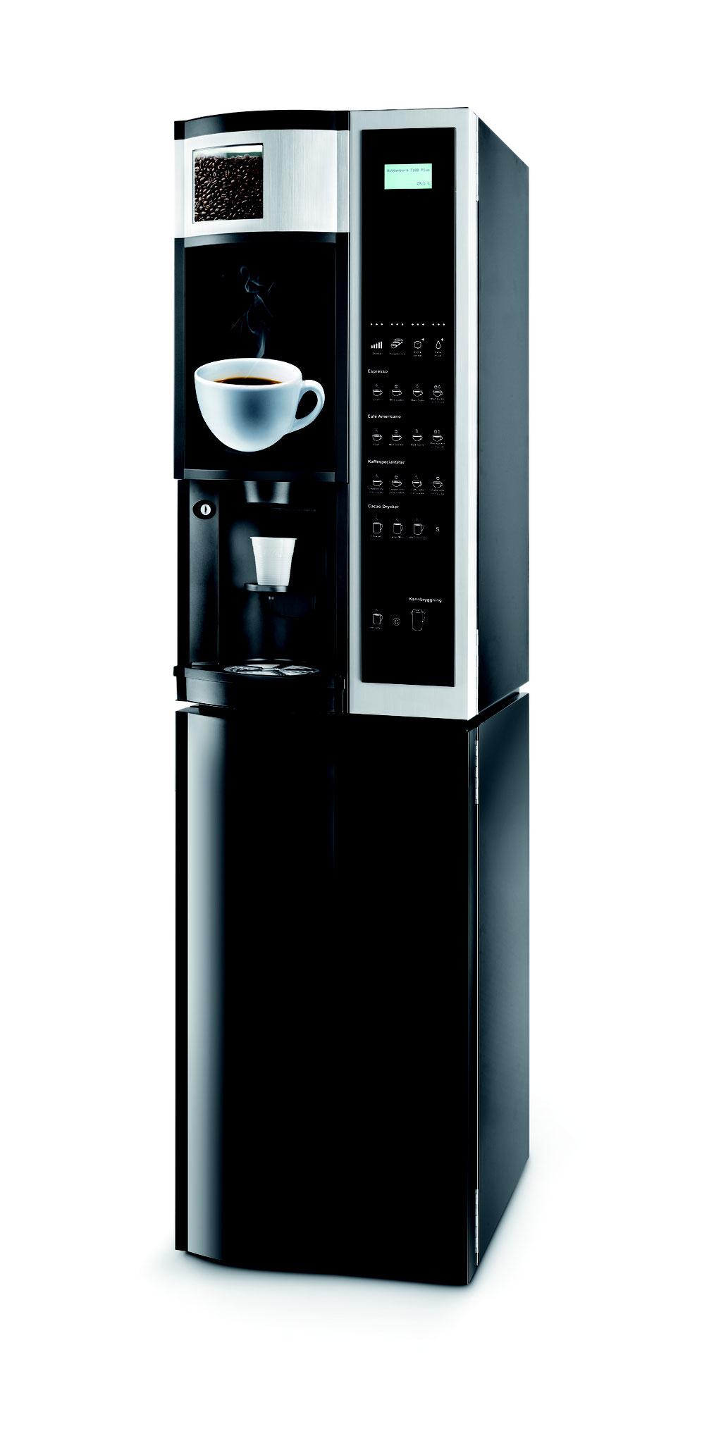 7100 Plus Espresso mit Unterschrank
