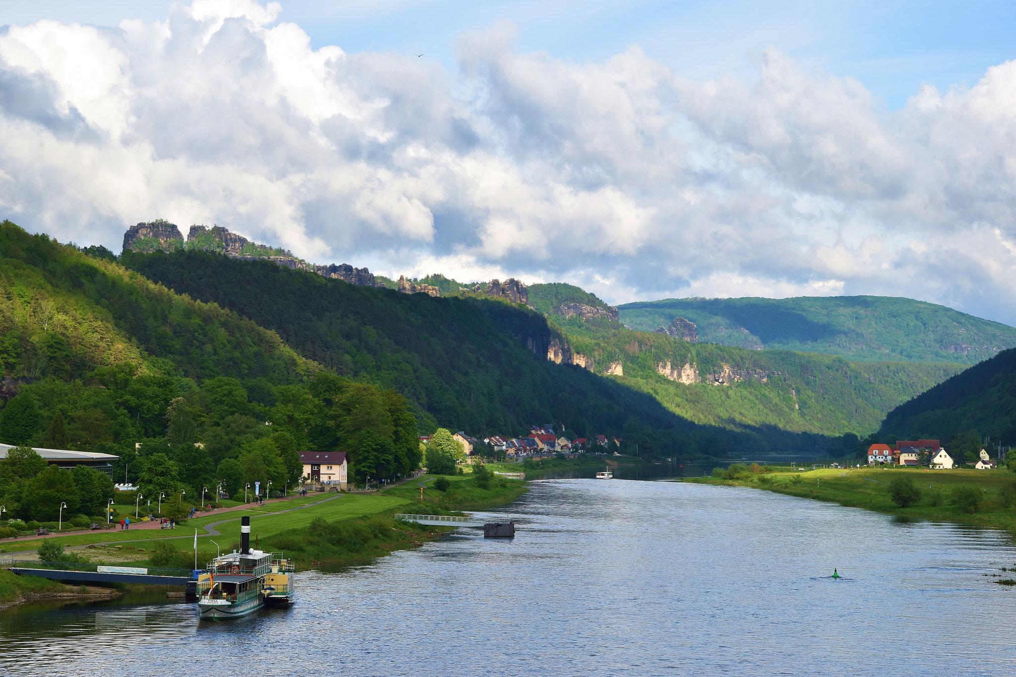 Blick Richtung Tschechien