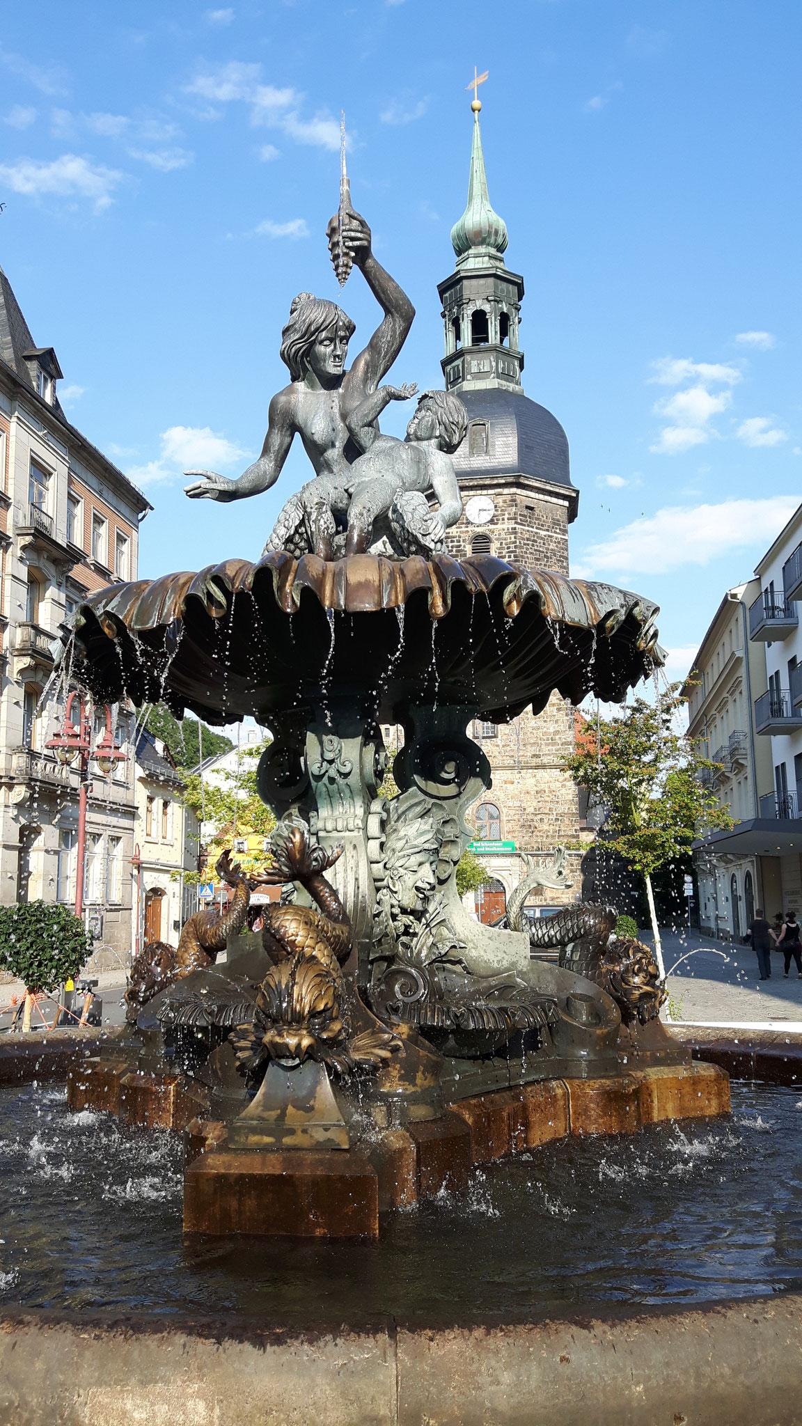 Sendigbrunnen auf dem Markt