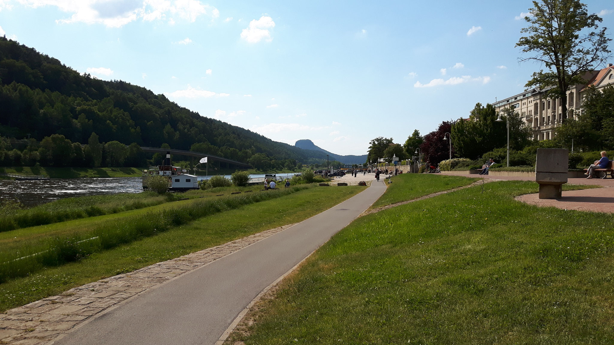 Unser Elbradweg/Fahrradweg