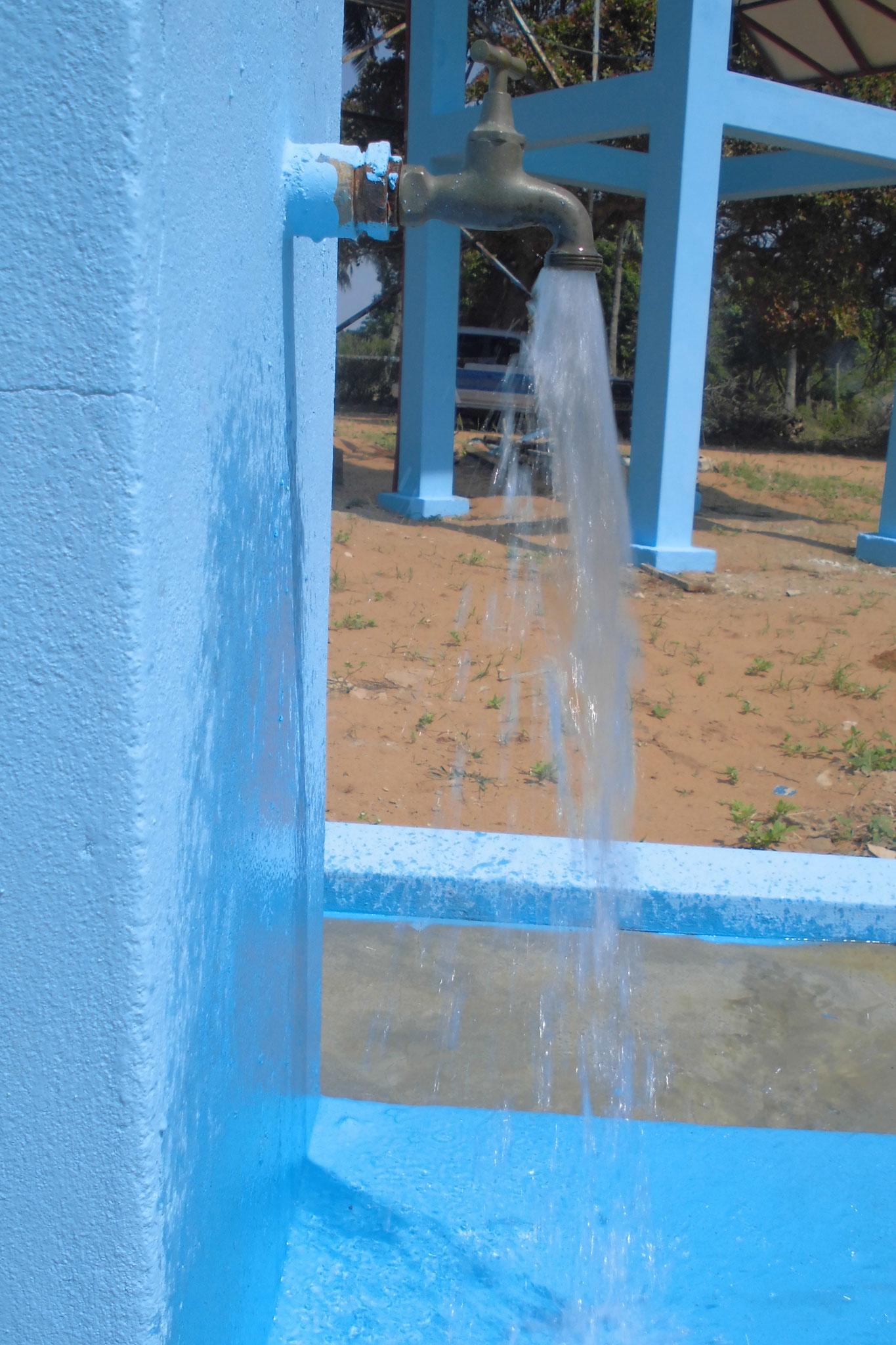 fresh water running