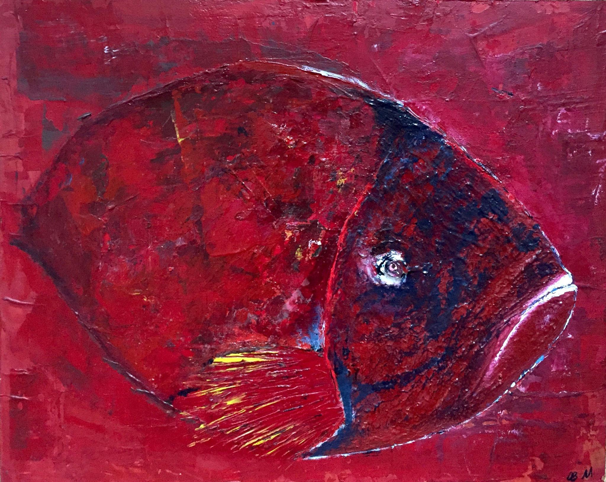 Acryl Barsch 40 x 30