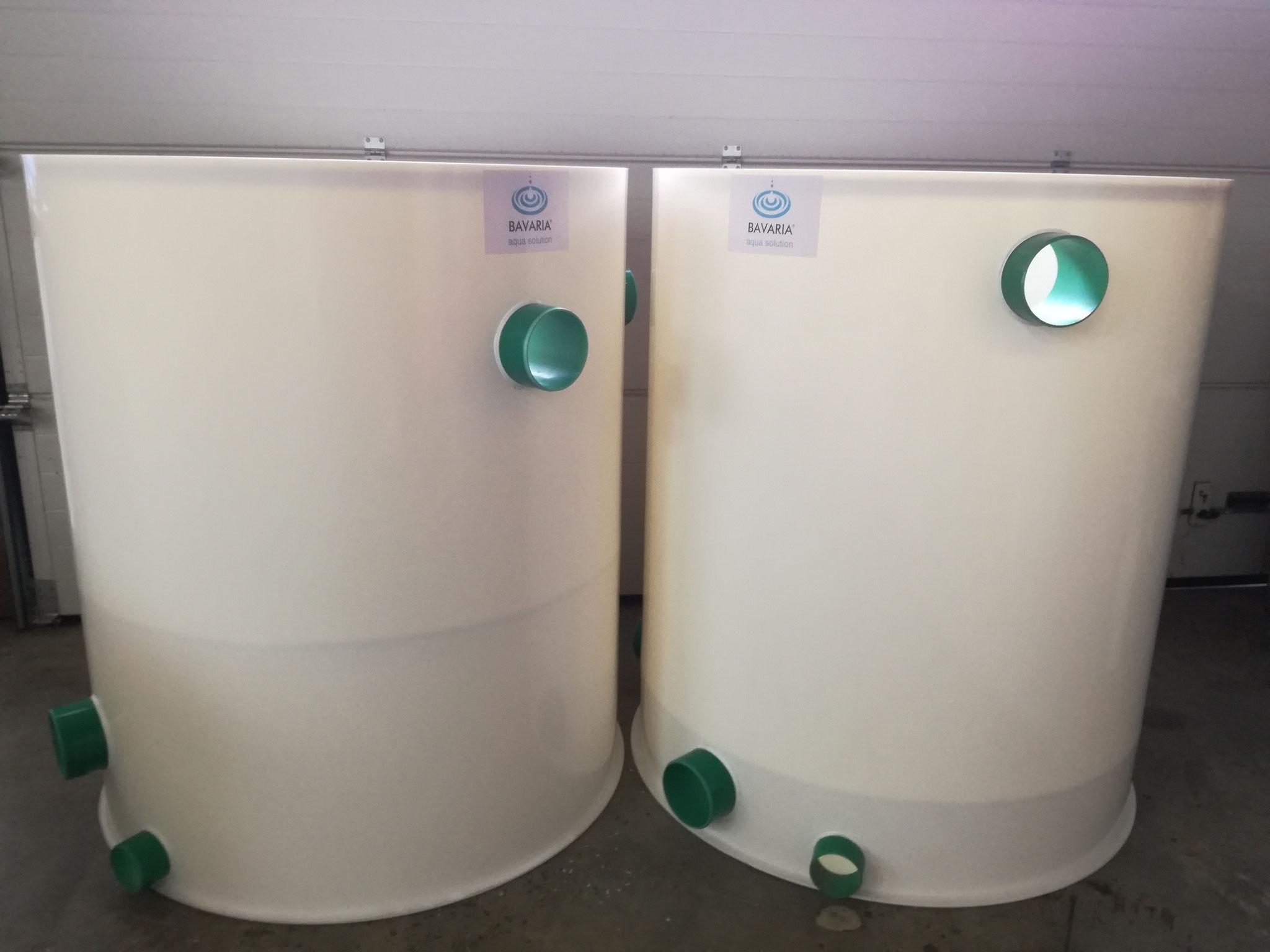 Bioreaktoren nach Kundenwunsch 2x1500l