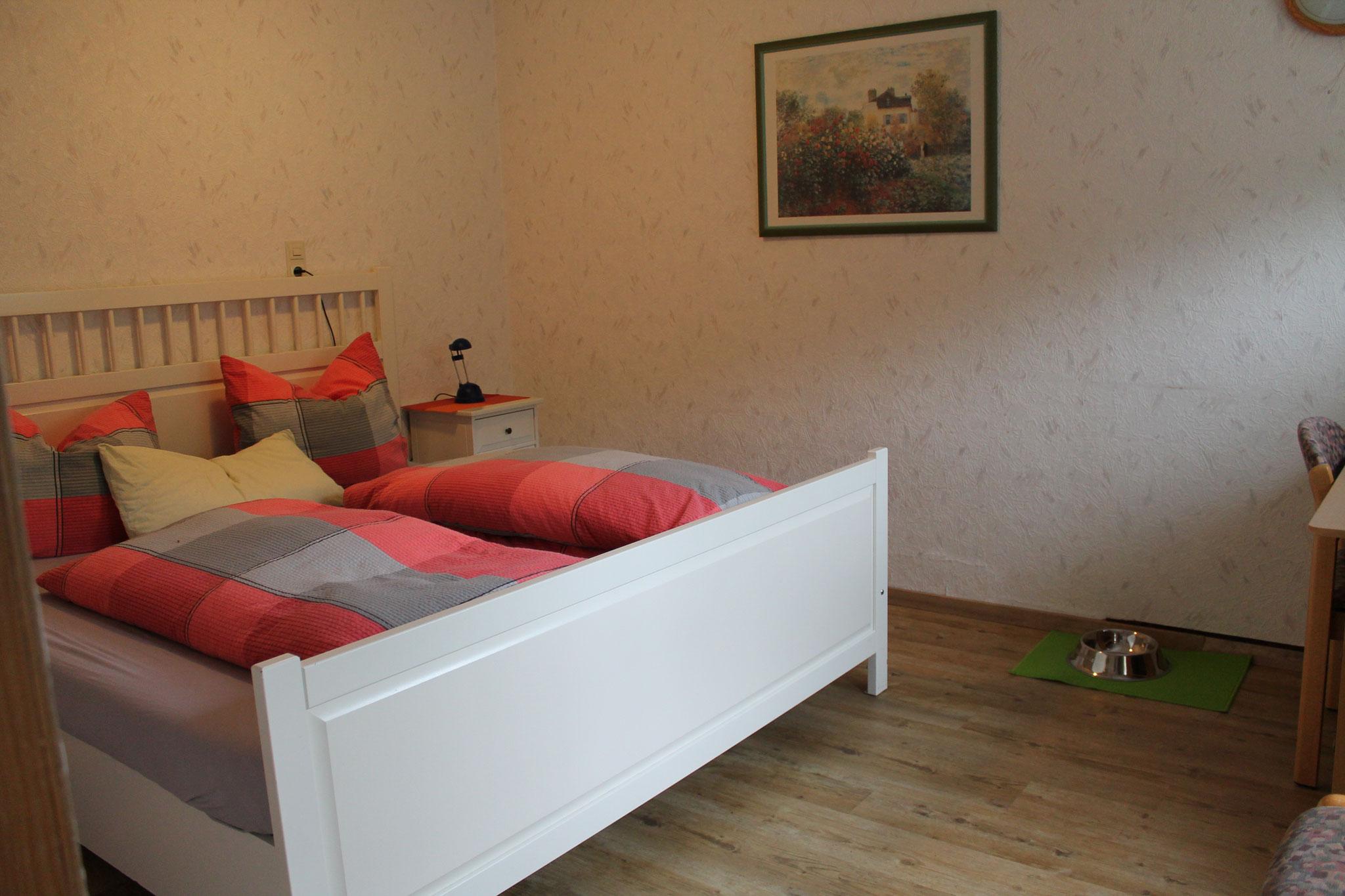 Zi Nr. 6, 3er Zimmer, oberer Stock (Doppelbett)