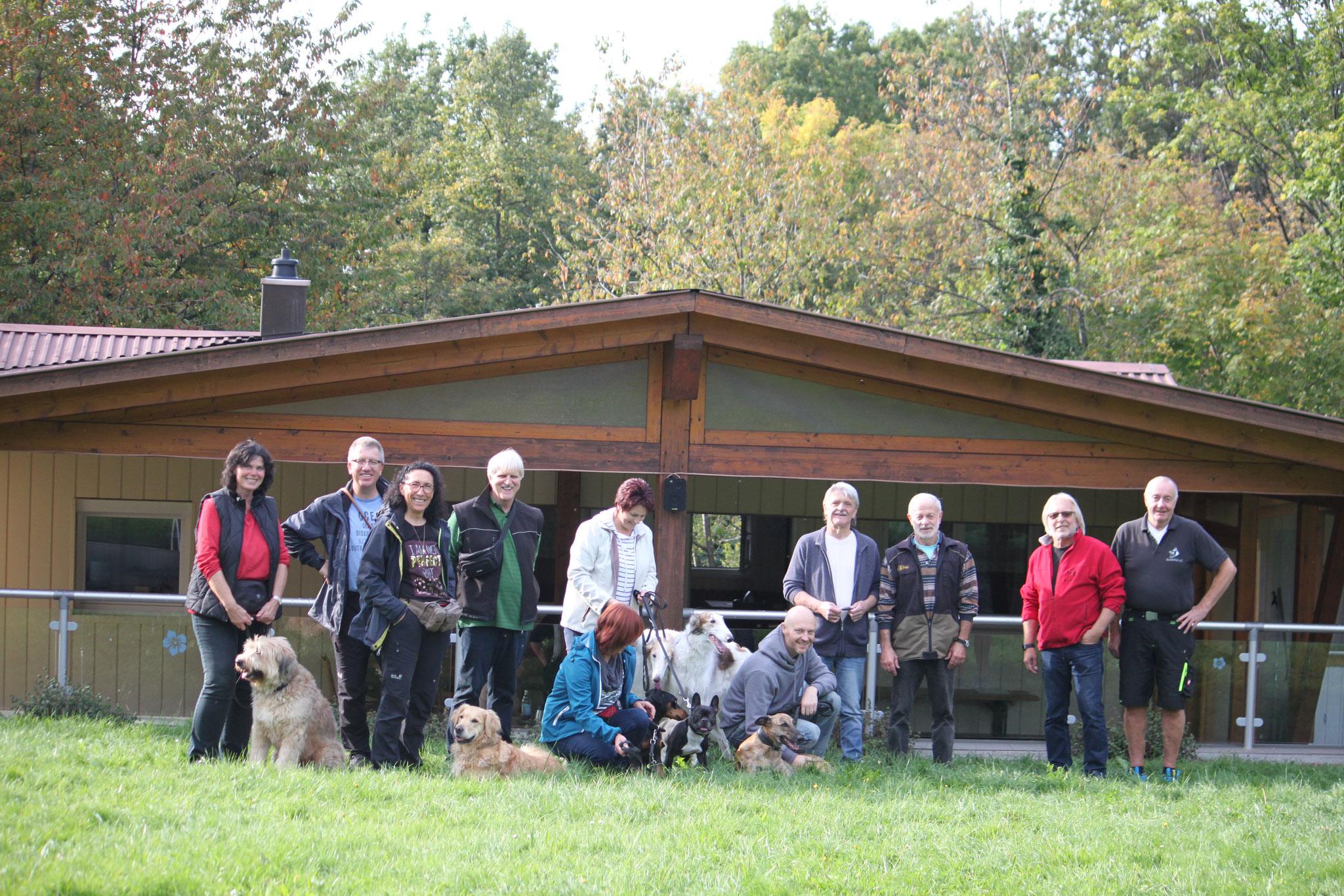 Herzlichen Dank an die Huchenfelder Schäferhund Freunde. Schön war`s bei euch.