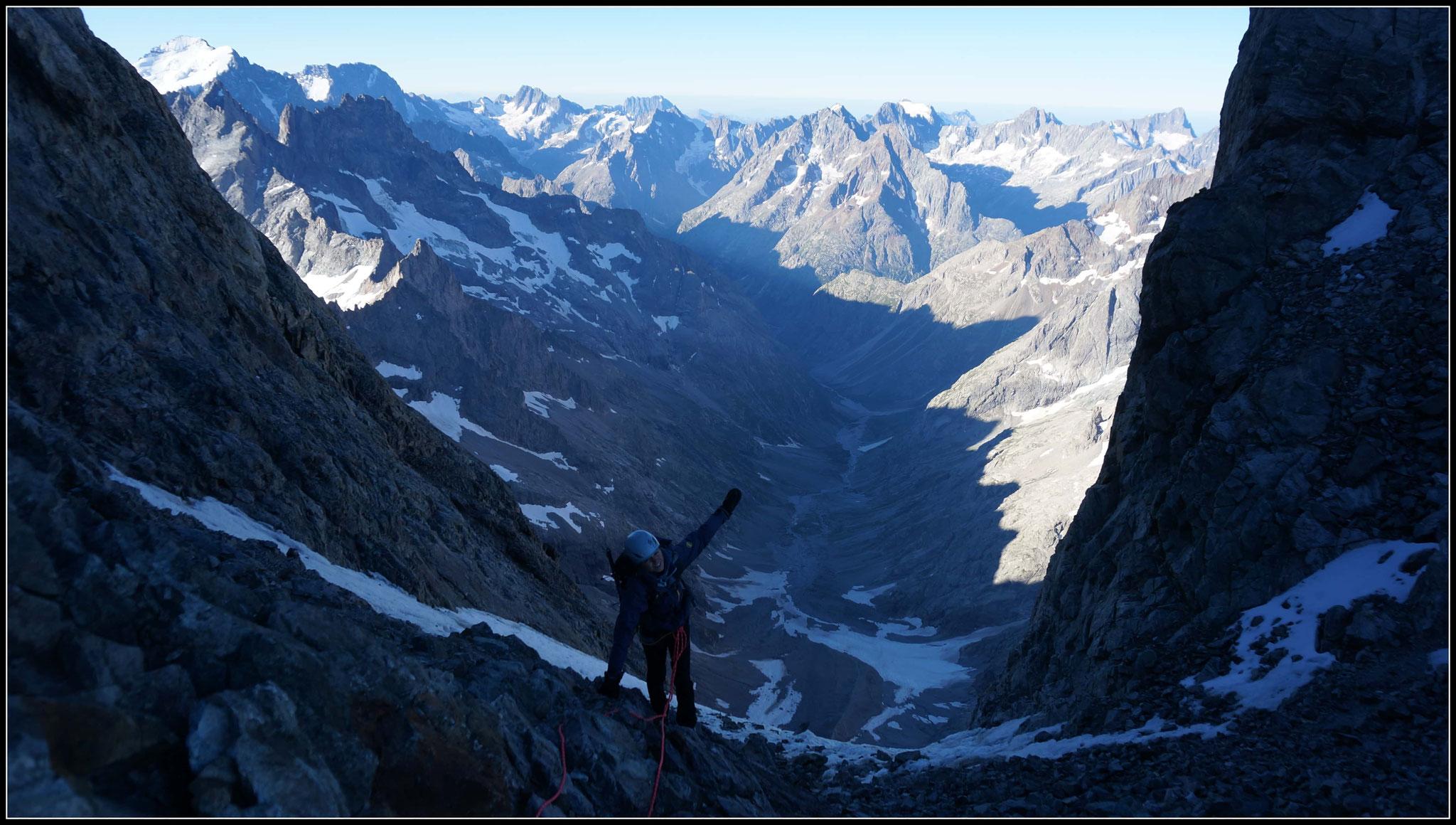 Brèche du glacier carré