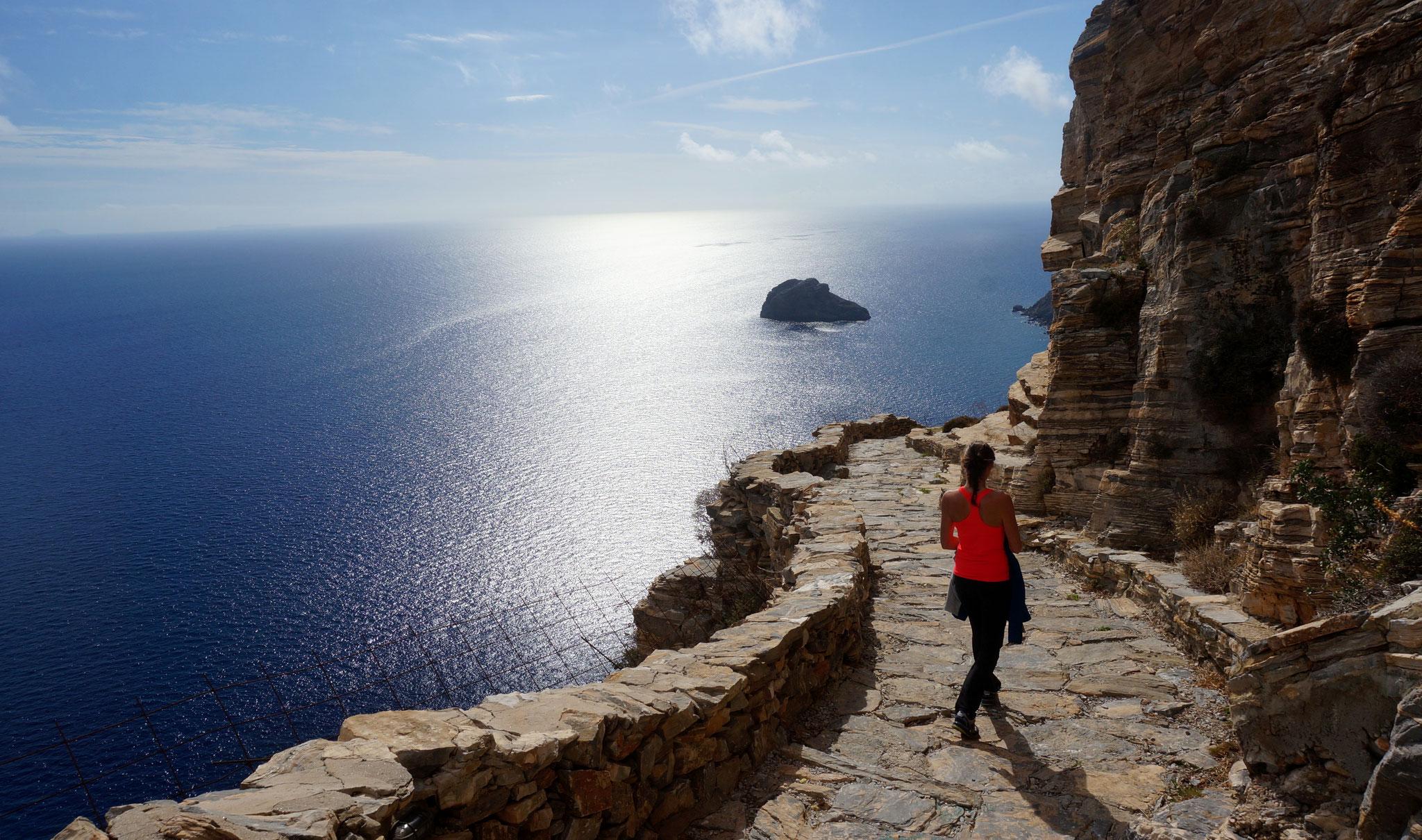 Mer et soleil à Amorgos