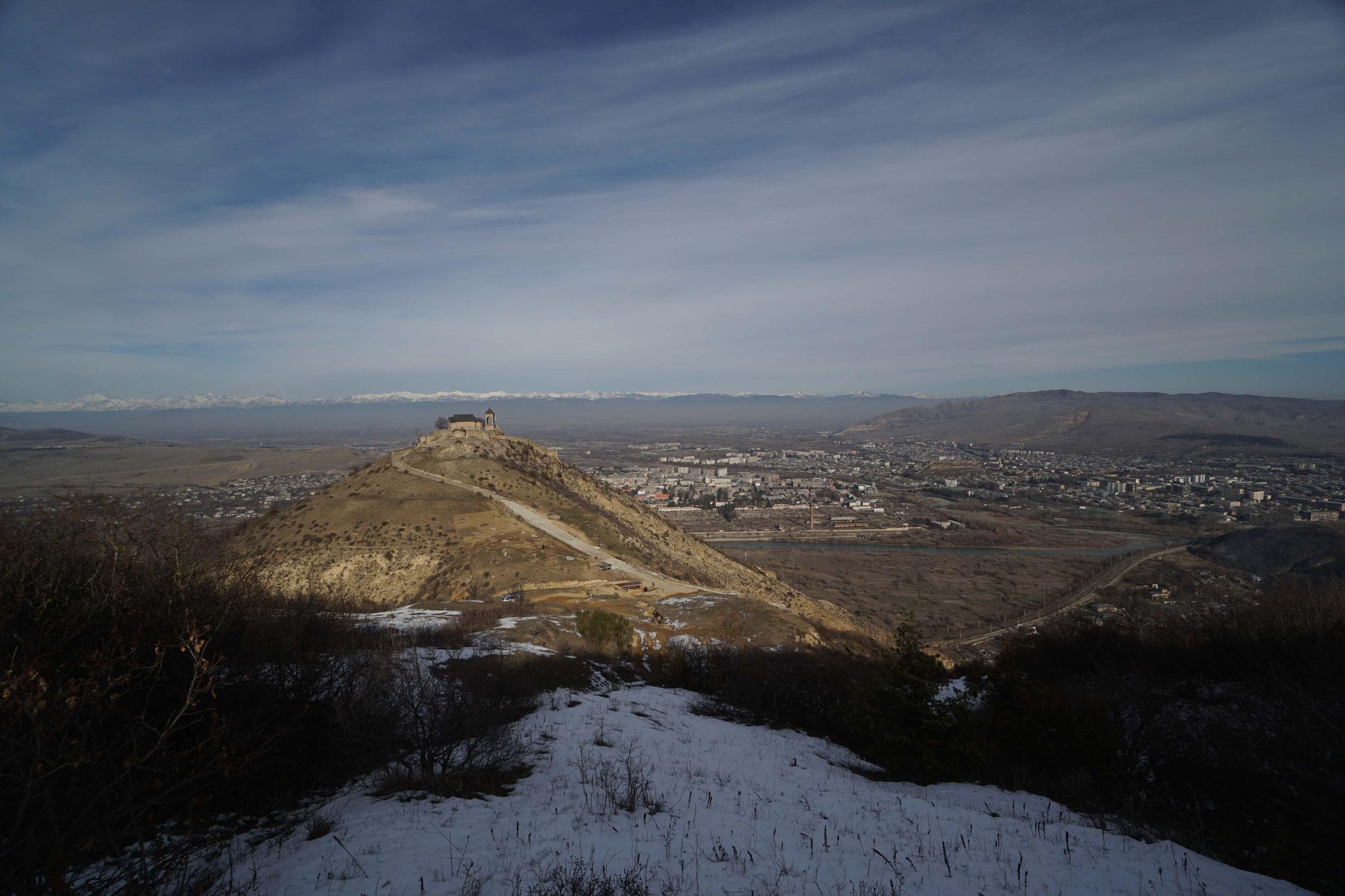 En rentrant à Tbilissi
