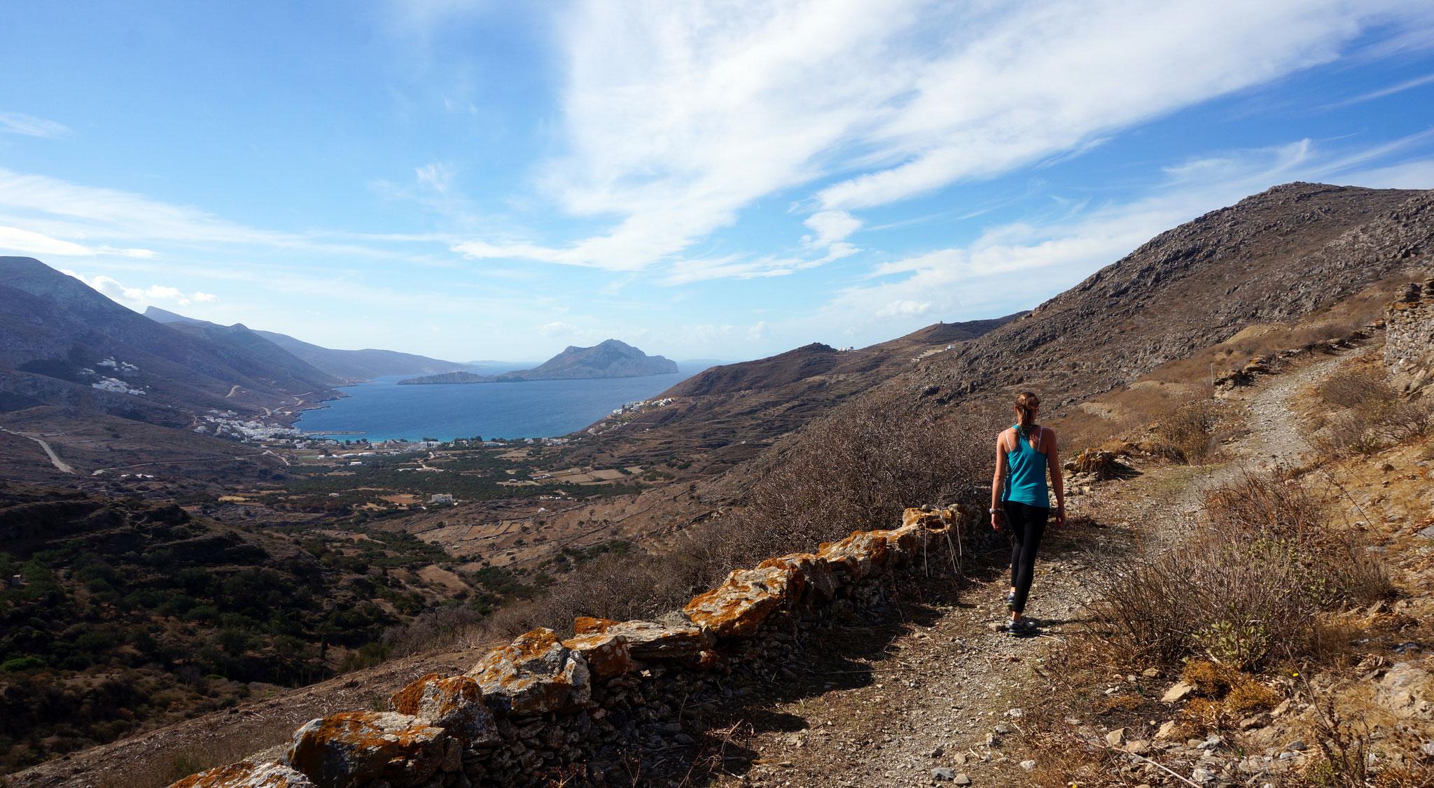 Balade au nord d'Amorgos