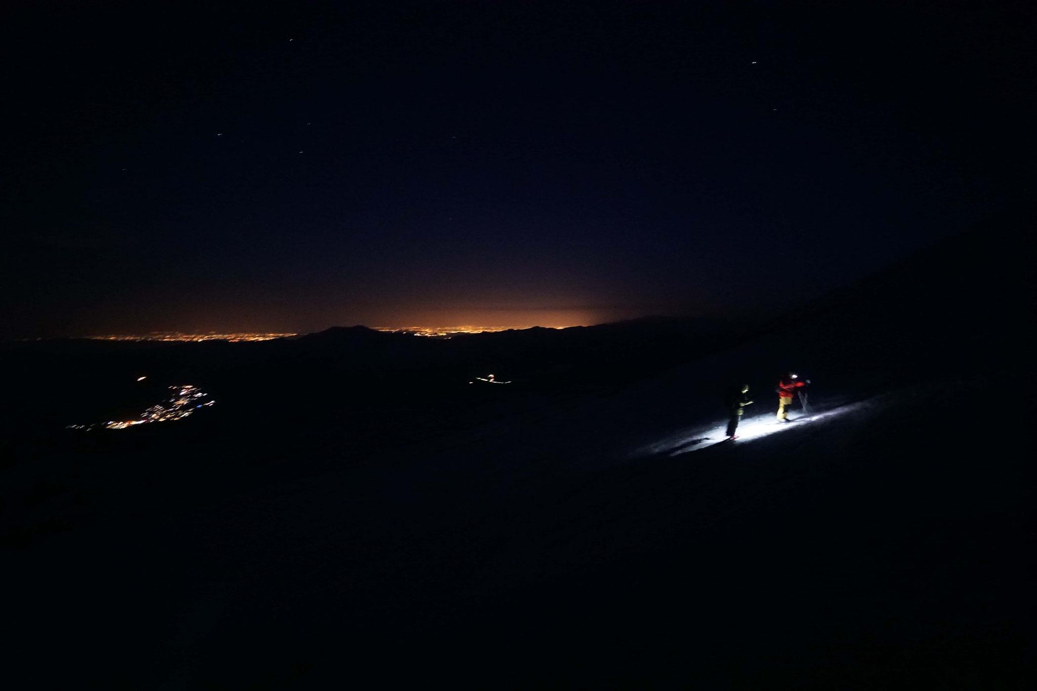 départ matinal pour le Volcan