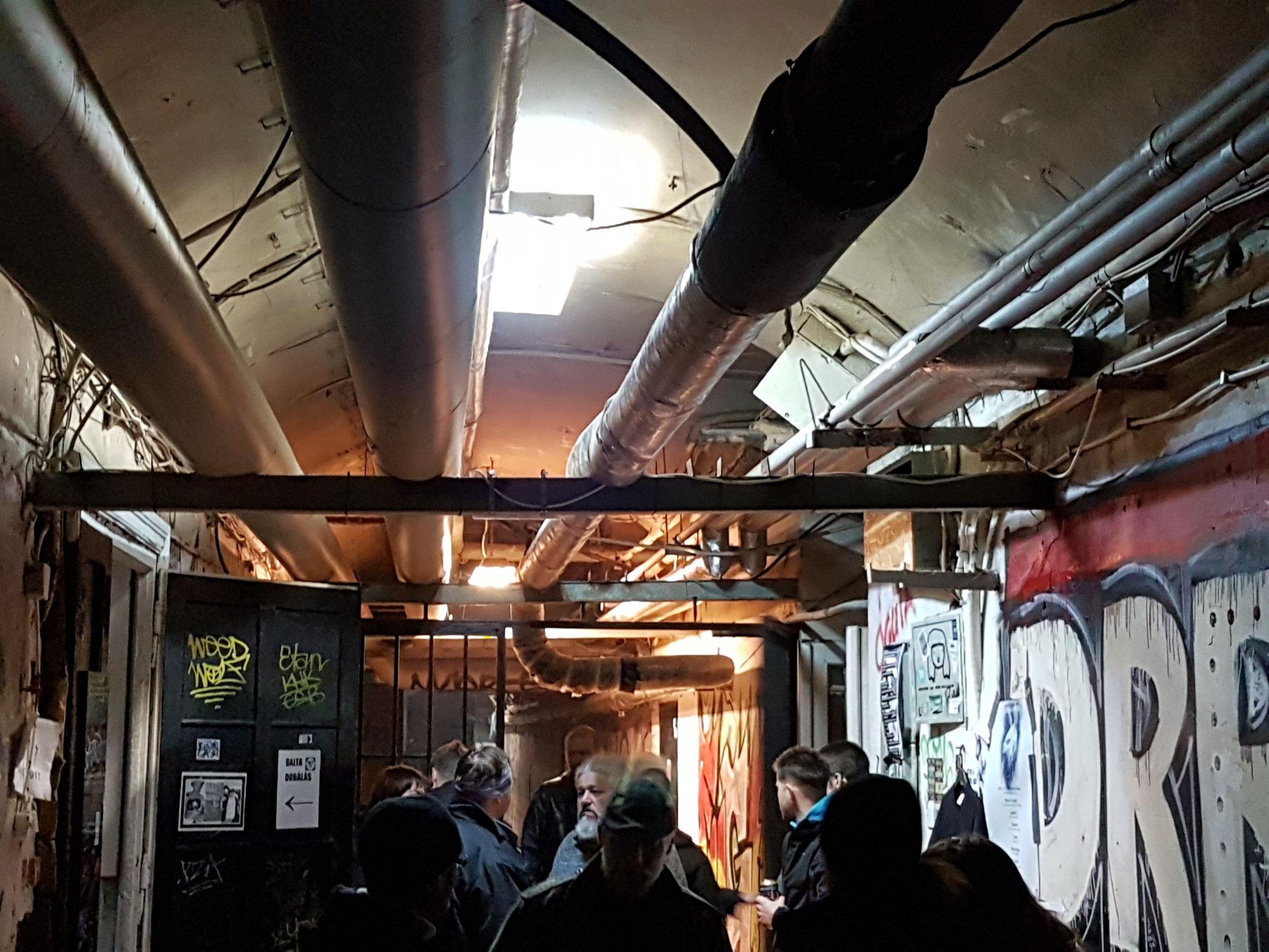 ...Underground...