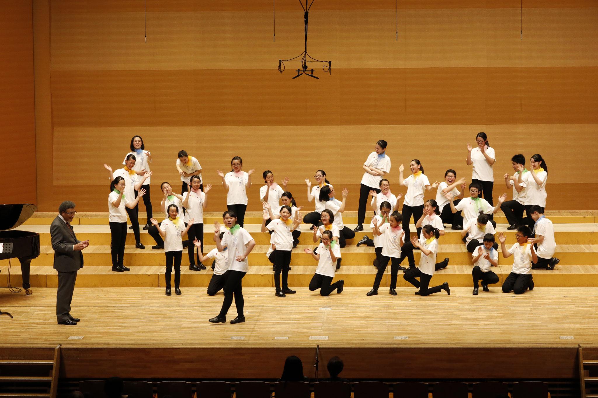 オープニングコンサート《改めて古典を。》相馬子どもコーラス 指揮:古橋富士雄