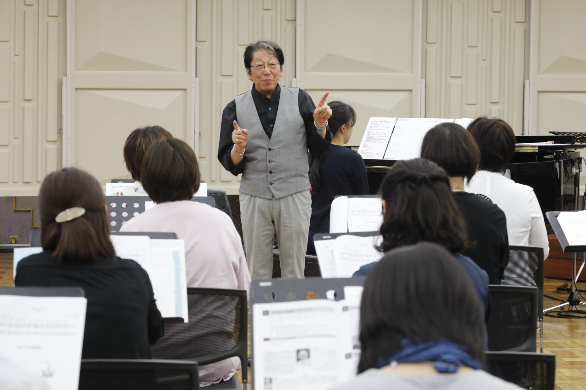 斉田好男 指揮法初級クラス