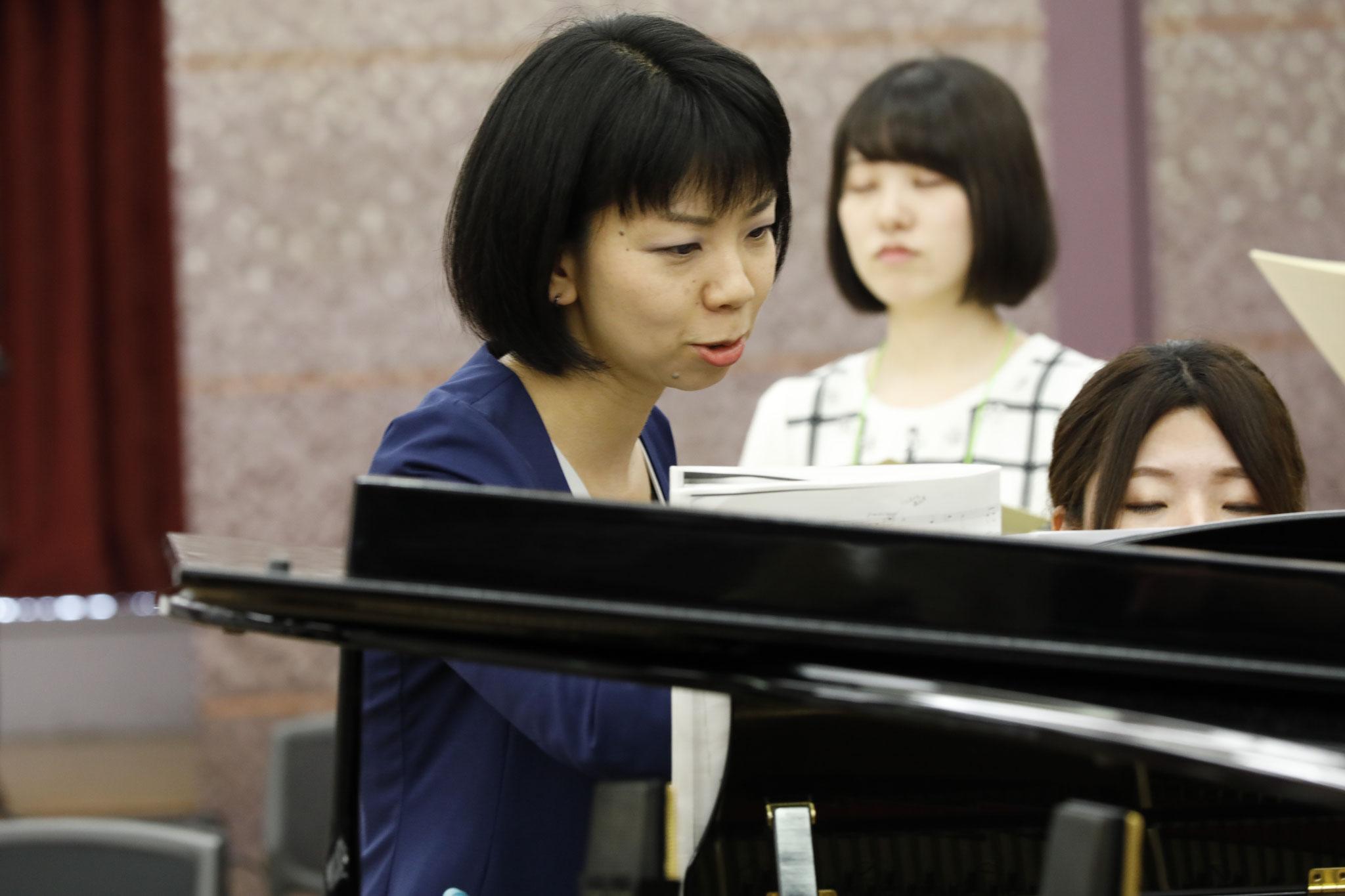 合唱作品におけるピアノ伴奏法 講師:松本 望 (指揮:仁階堂孝・モデル合唱団:Ensemble Evergreen)