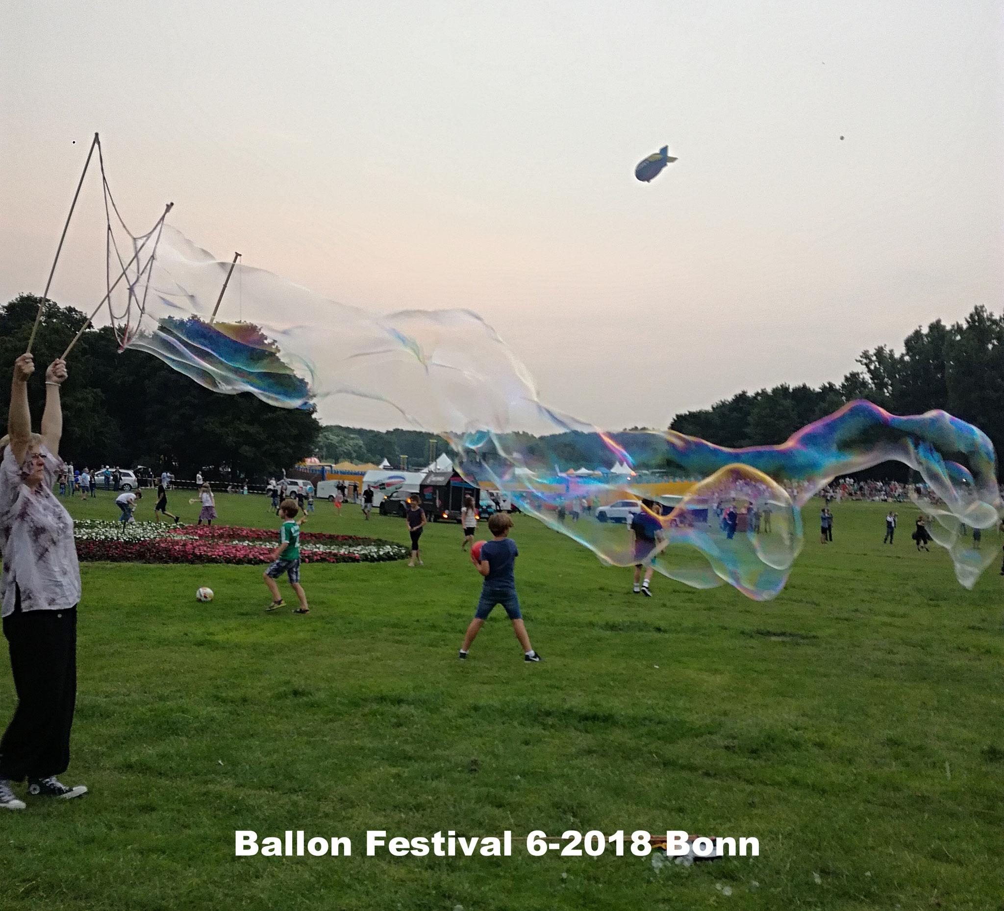 Ballon Festival 6-2018 Bonn