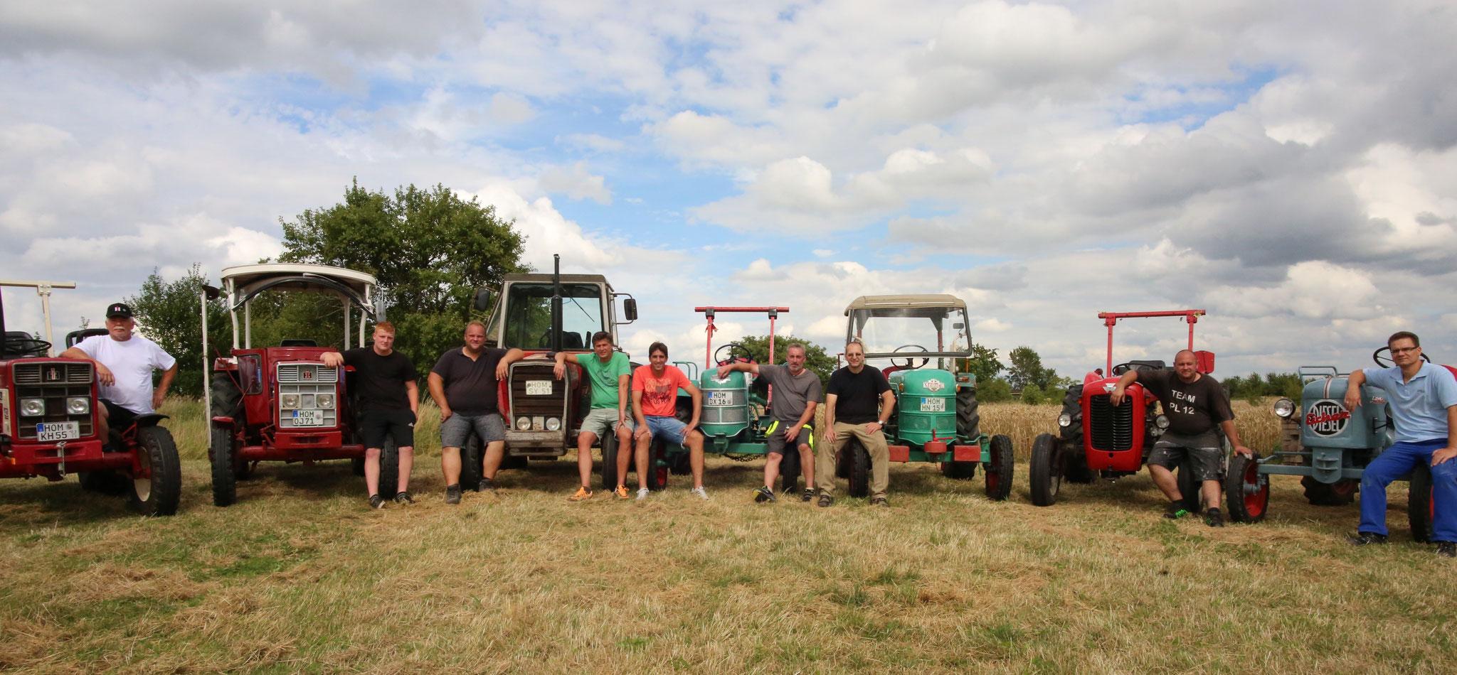 Die Traktoren-Gladiatoren am 30.07.2016