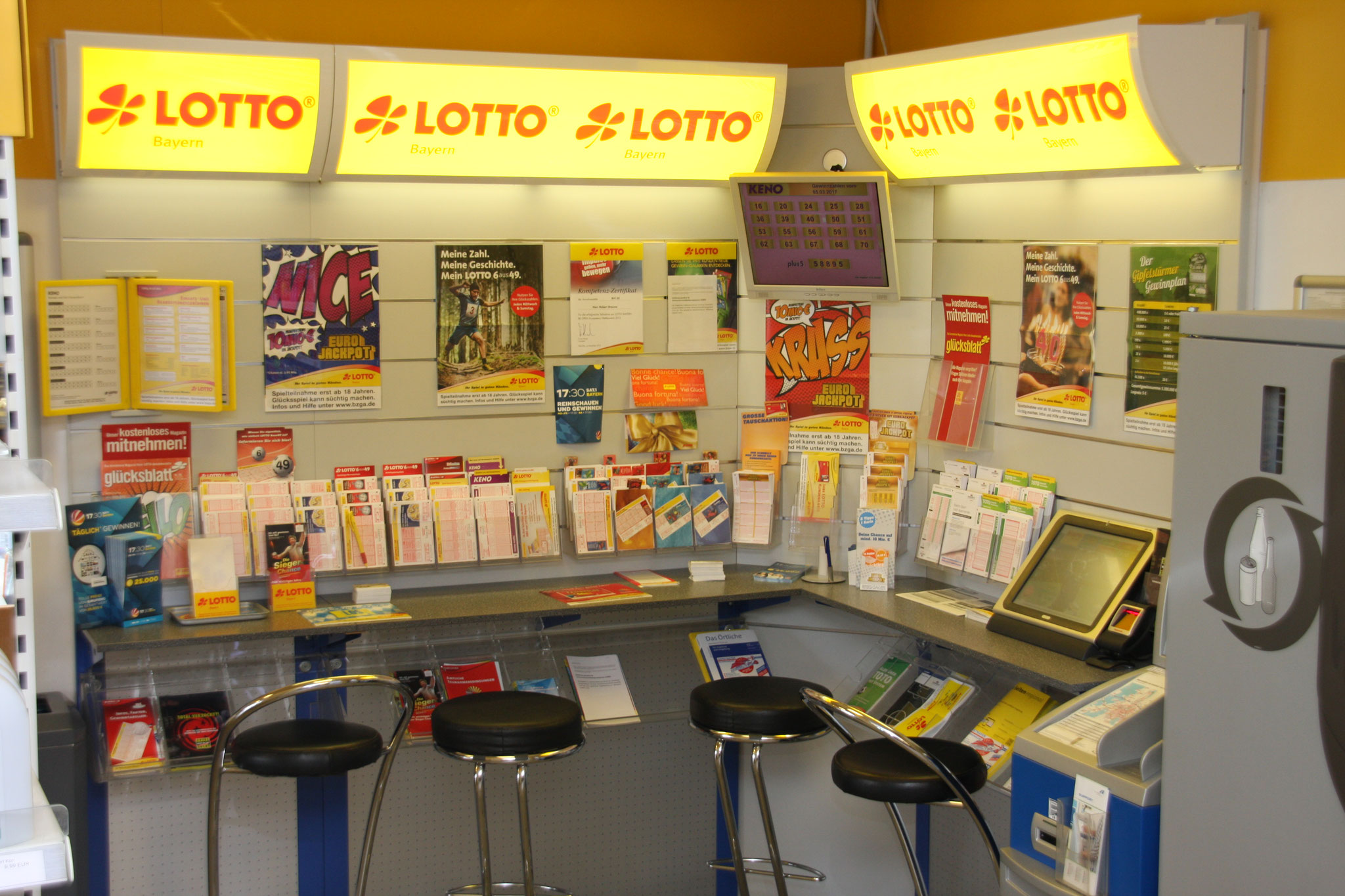 Lotto-Ecke