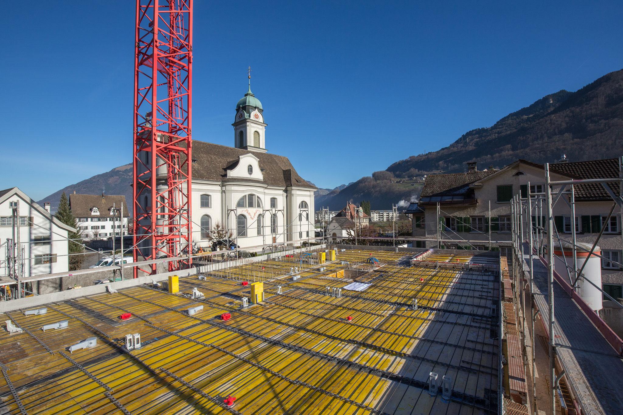 Baufortschritt Dezember 2016