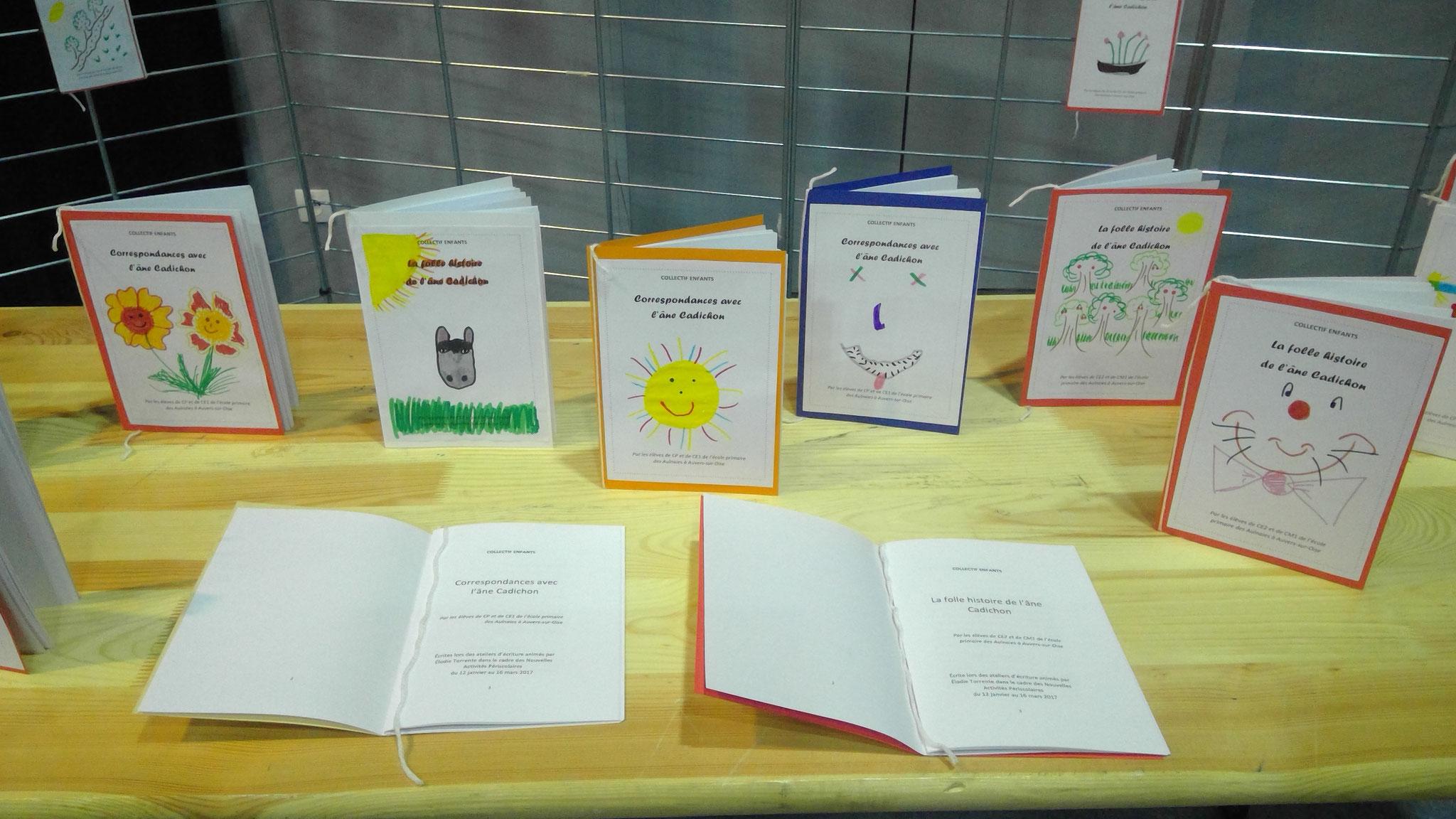 Les petits livres dont les histoires ont été écrites par les enfants