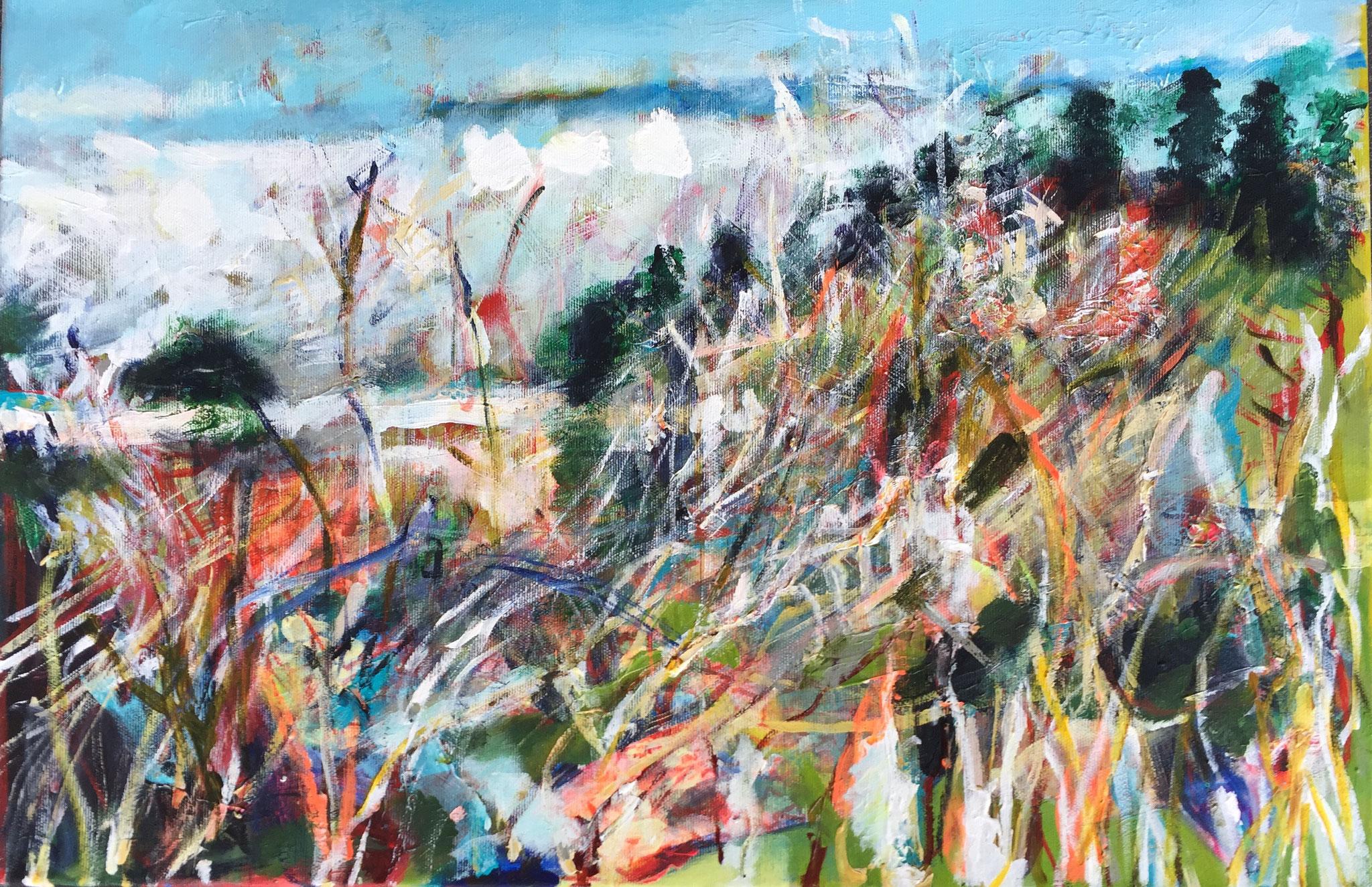 Winter 4, 40x60 acrylic on canvas